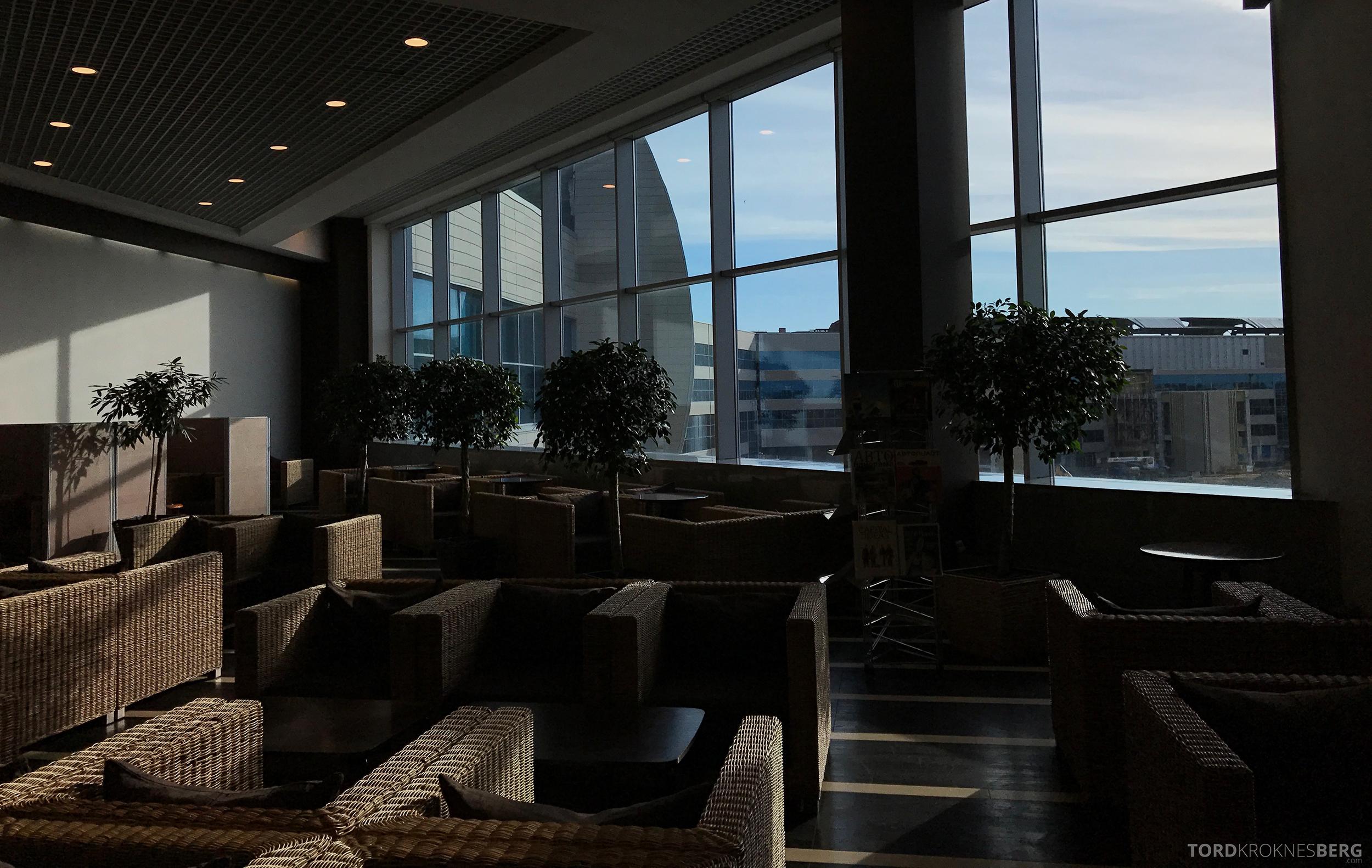 Airport Business Lounge Moskva utsikt ved vindu