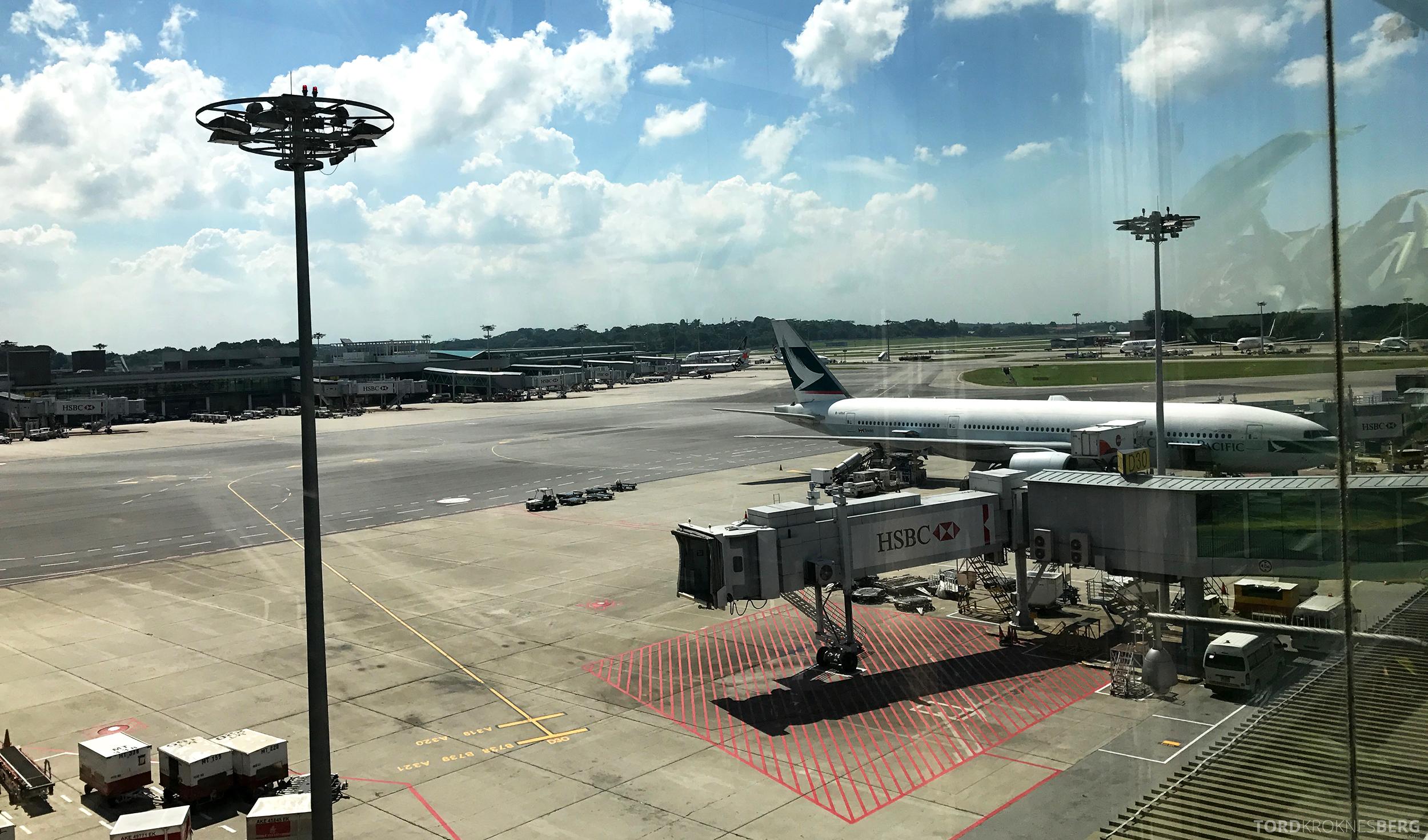 Changi Airport Singapore utsikt