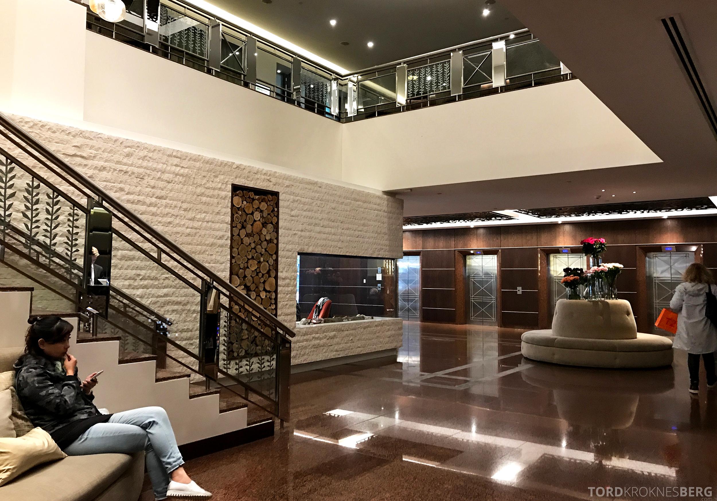 InterContinental Wellington lobby