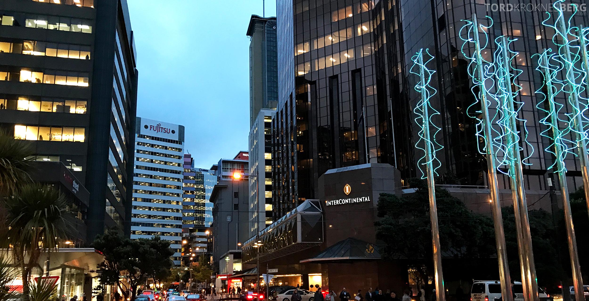 InterContinental Wellington fasade
