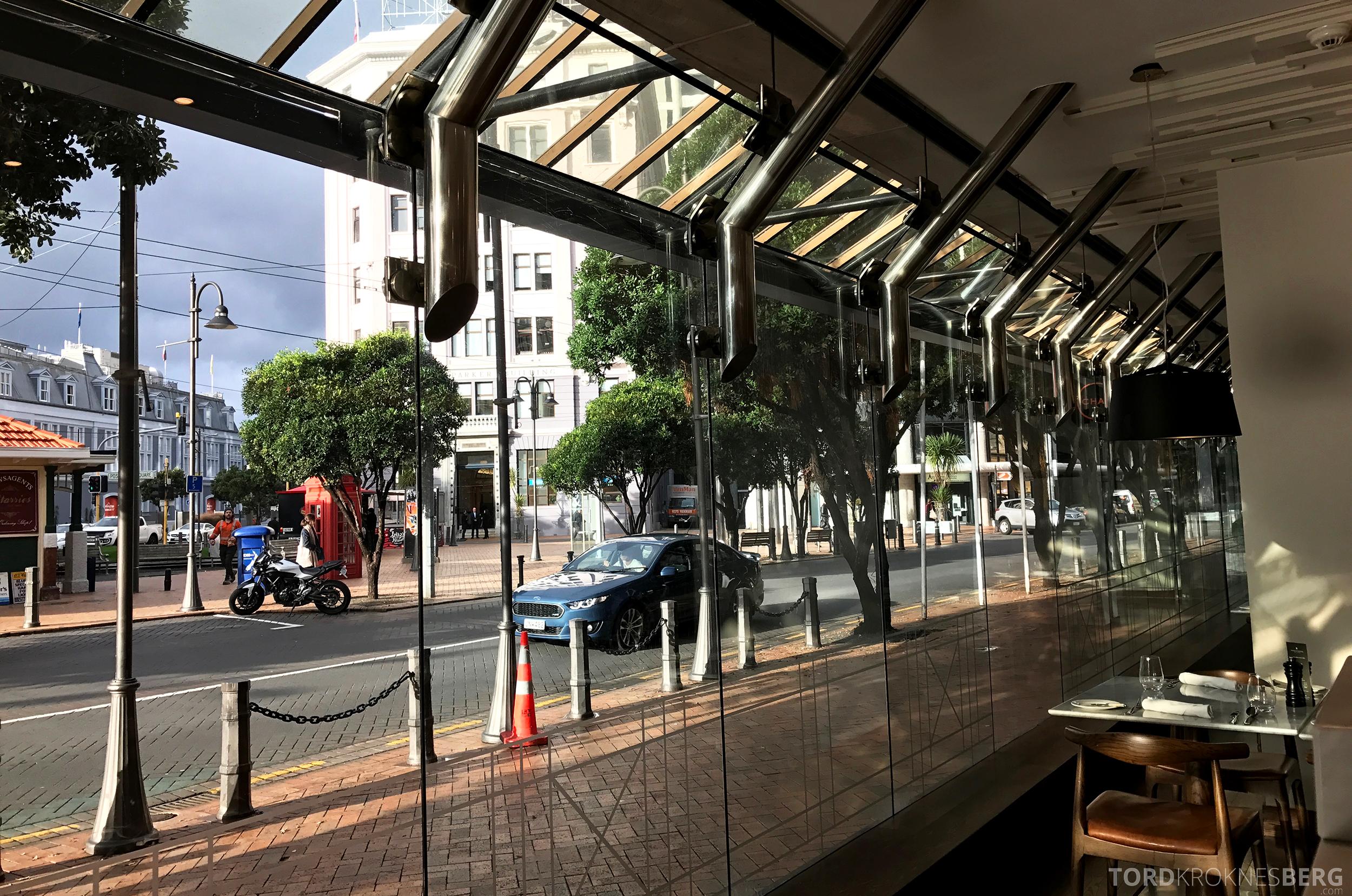 InterContinental Wellington utsikt frokost