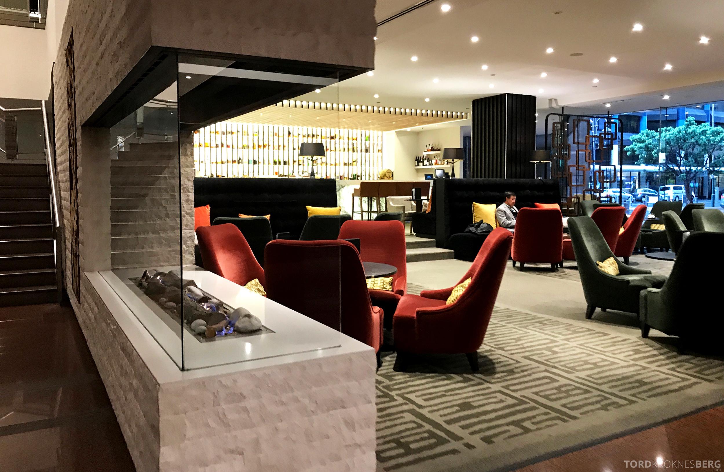 InterContinental Wellington lobby bar
