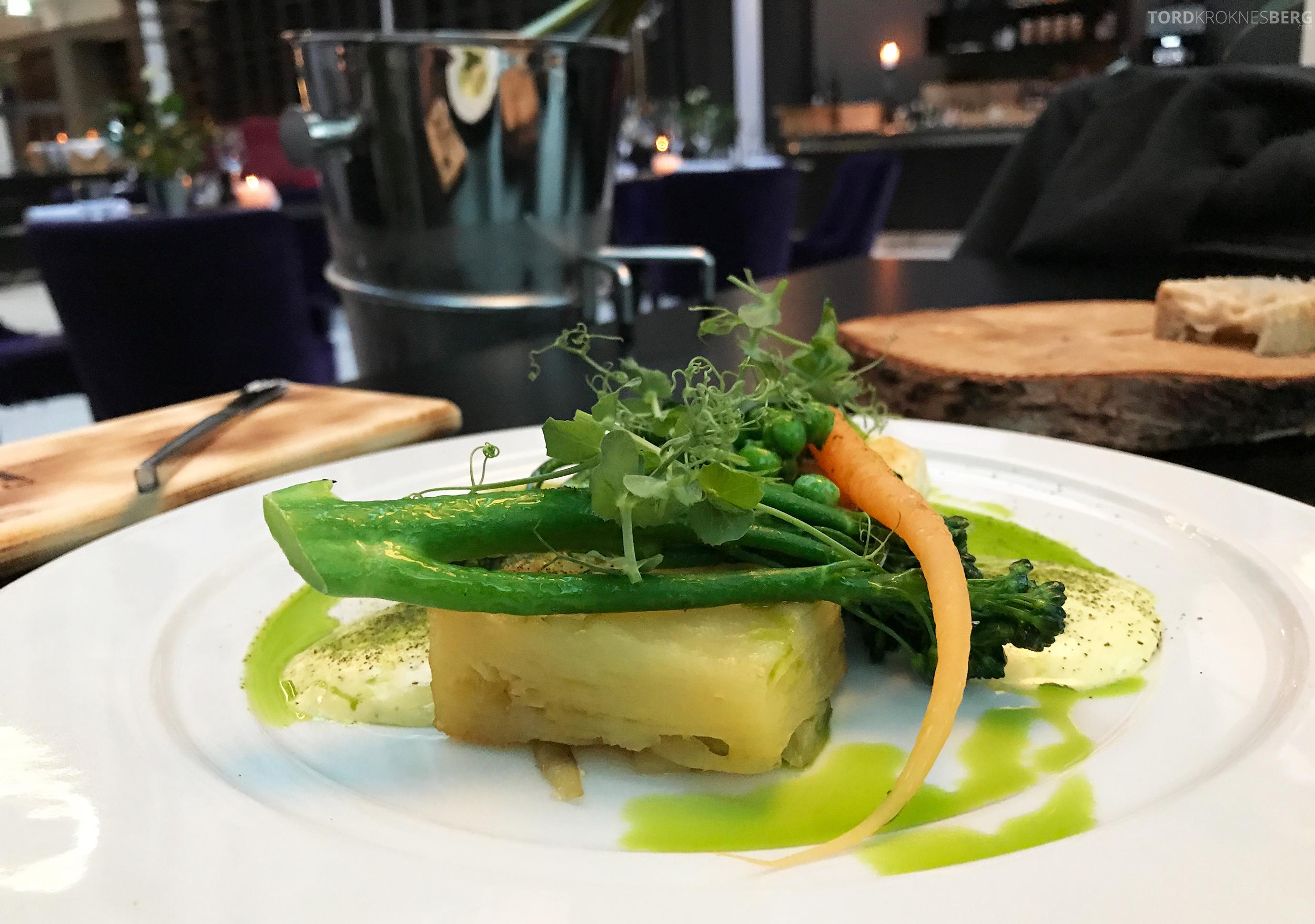 Restaurant 73 Radisson Blu Royal Garden Trondheim kveite