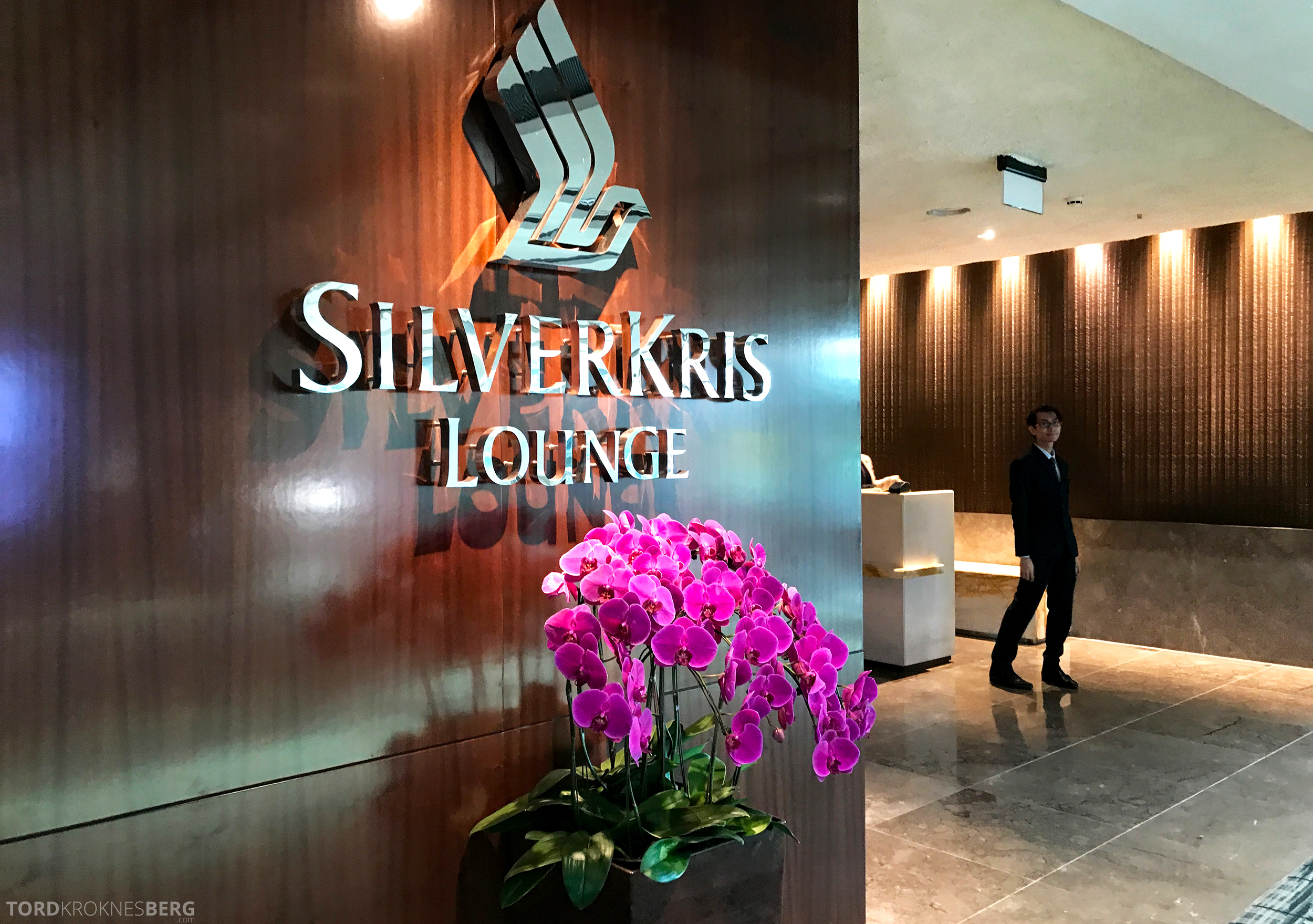 Singapore Airlines SilverKris Lounge resepsjon