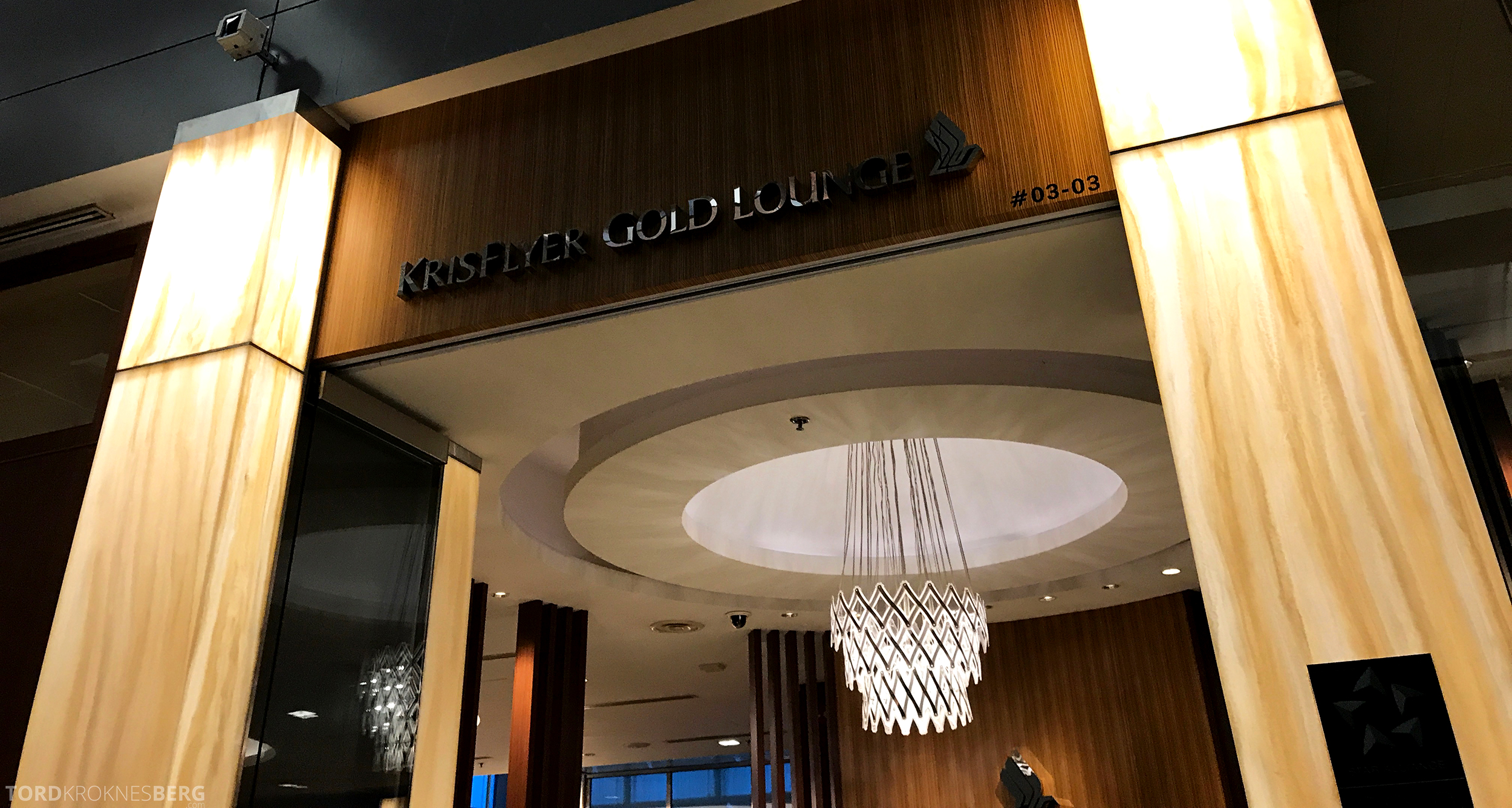 Singapore Airlines SilverKris Lounge gullkort