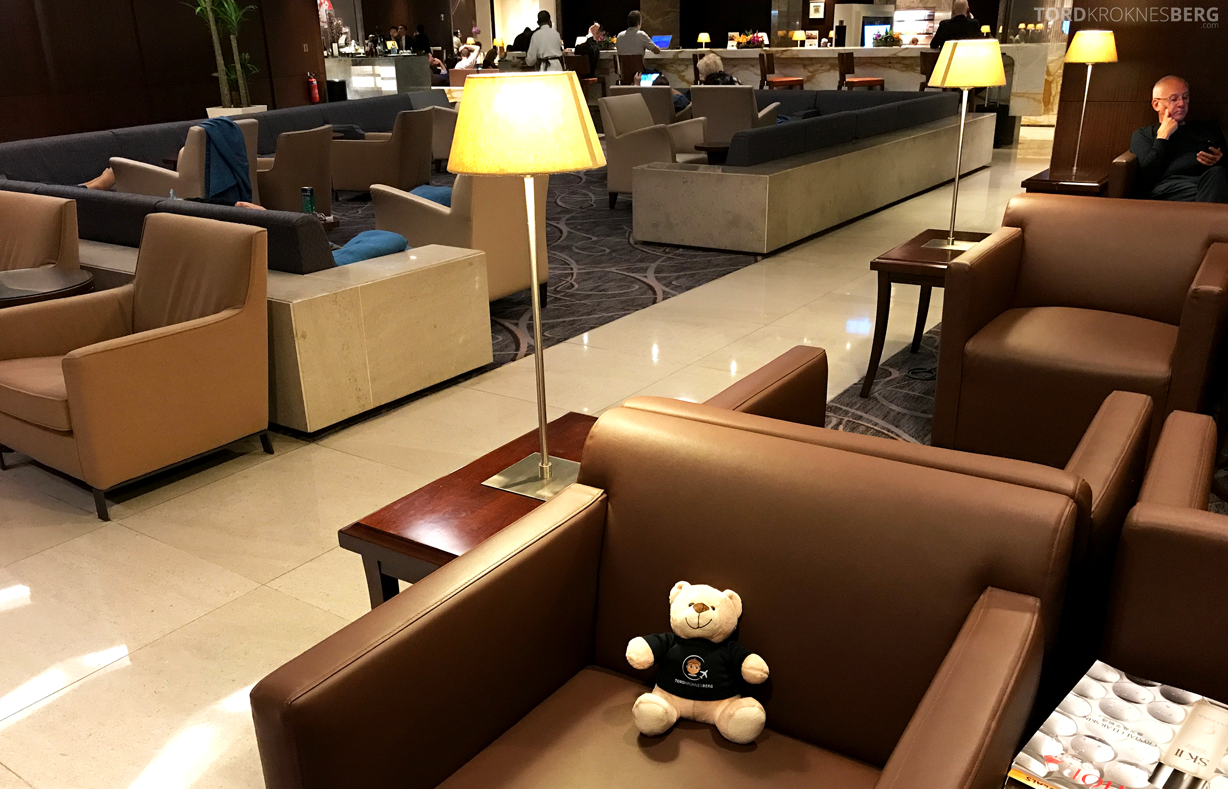 Singapore Airlines SilverKris Lounge reisefølget