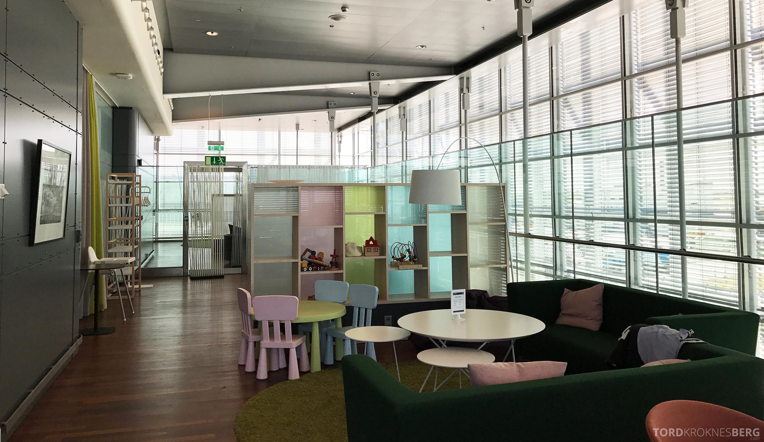 Stockholm Arlanda Lounge barneavdeling