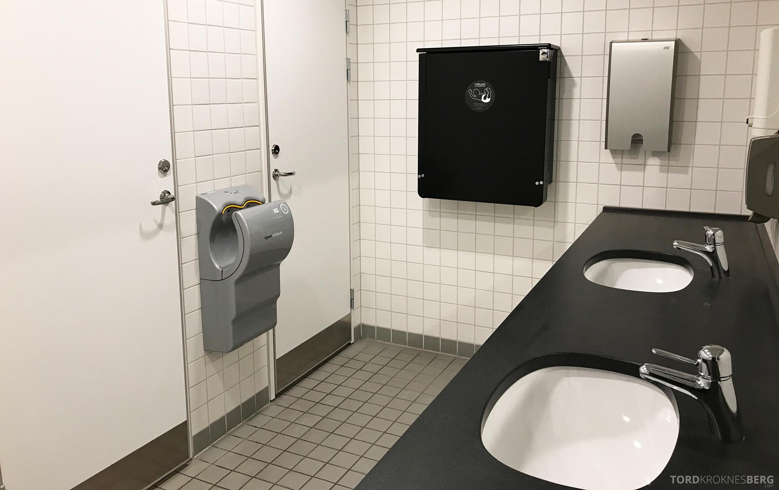 Stockholm Arlanda Lounge toalett