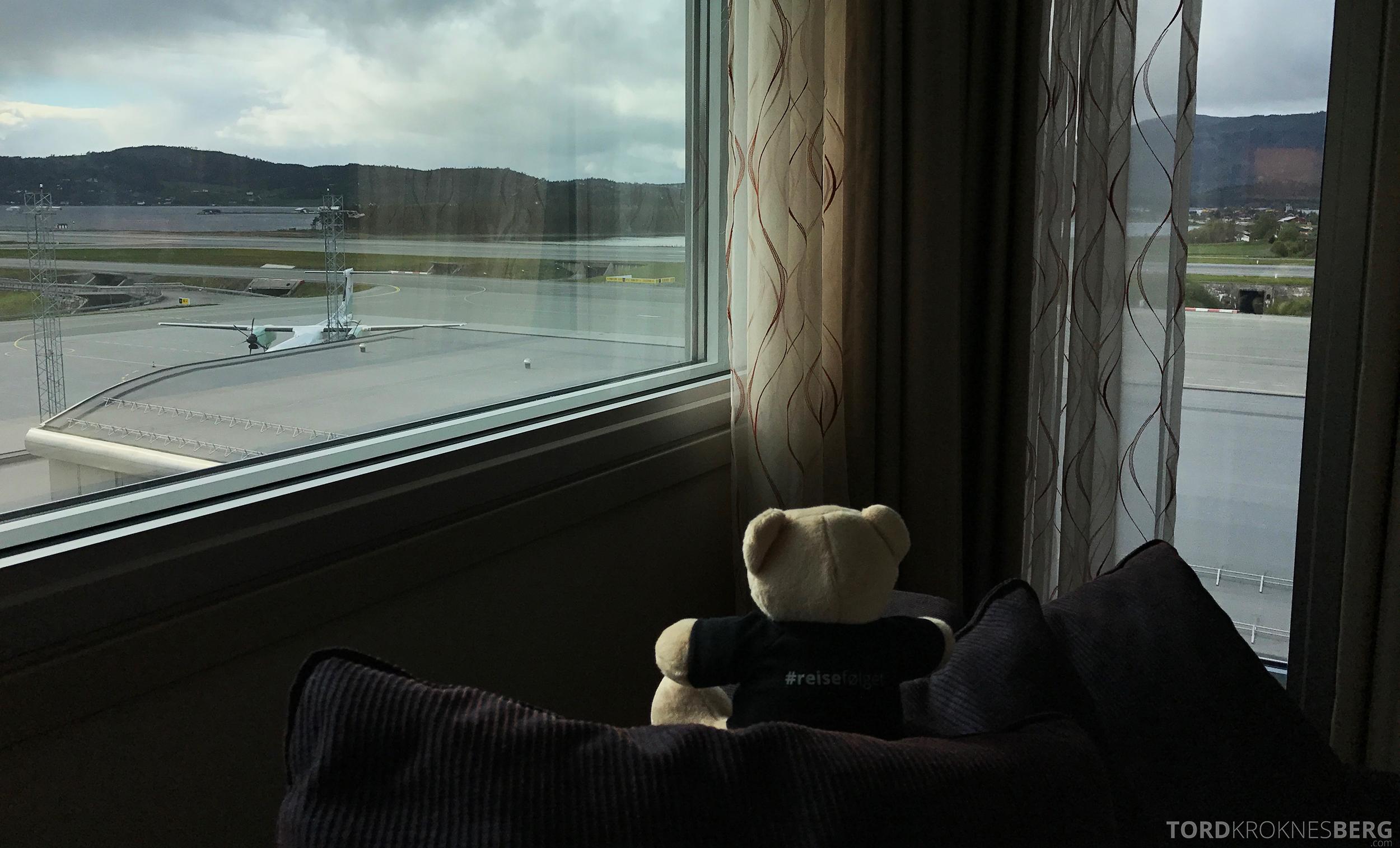 Radisson Blu Airport Værnes reisefølget tester utsikten