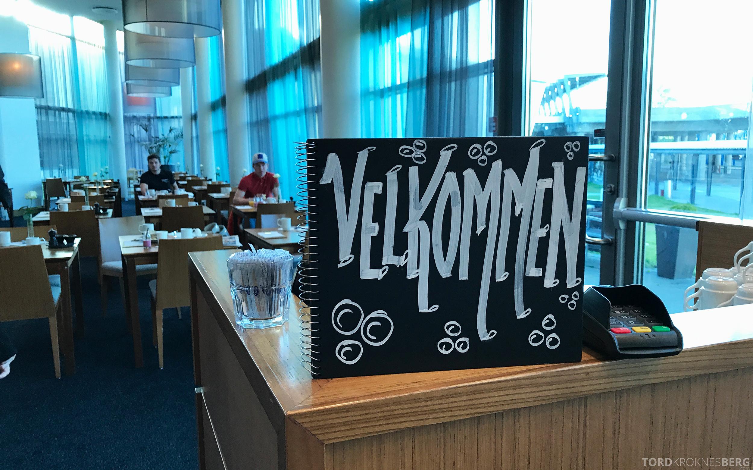 Radisson Blu Airport Værnes velkommen frokost