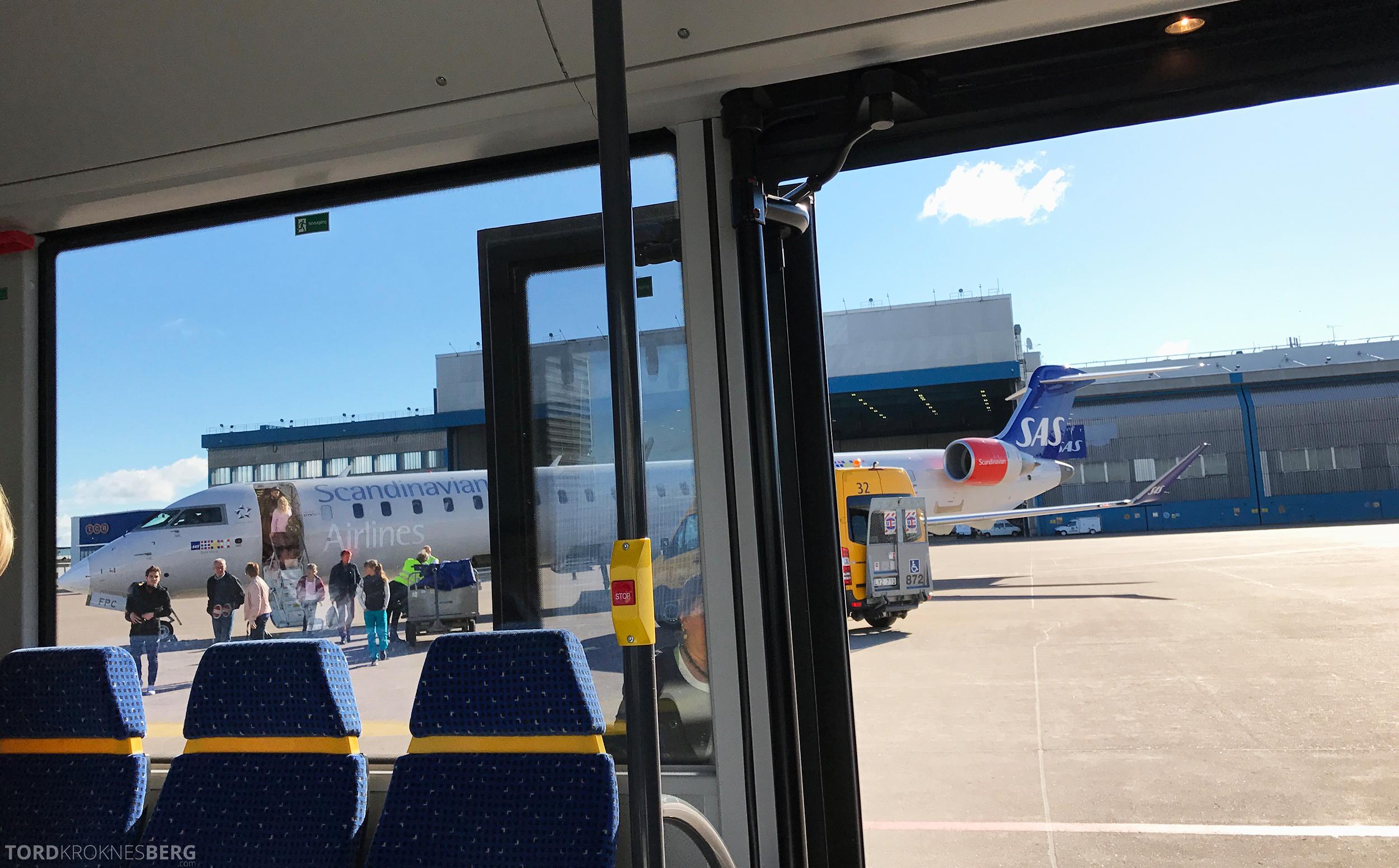 SAS Plus Trondheim Stockholm buss