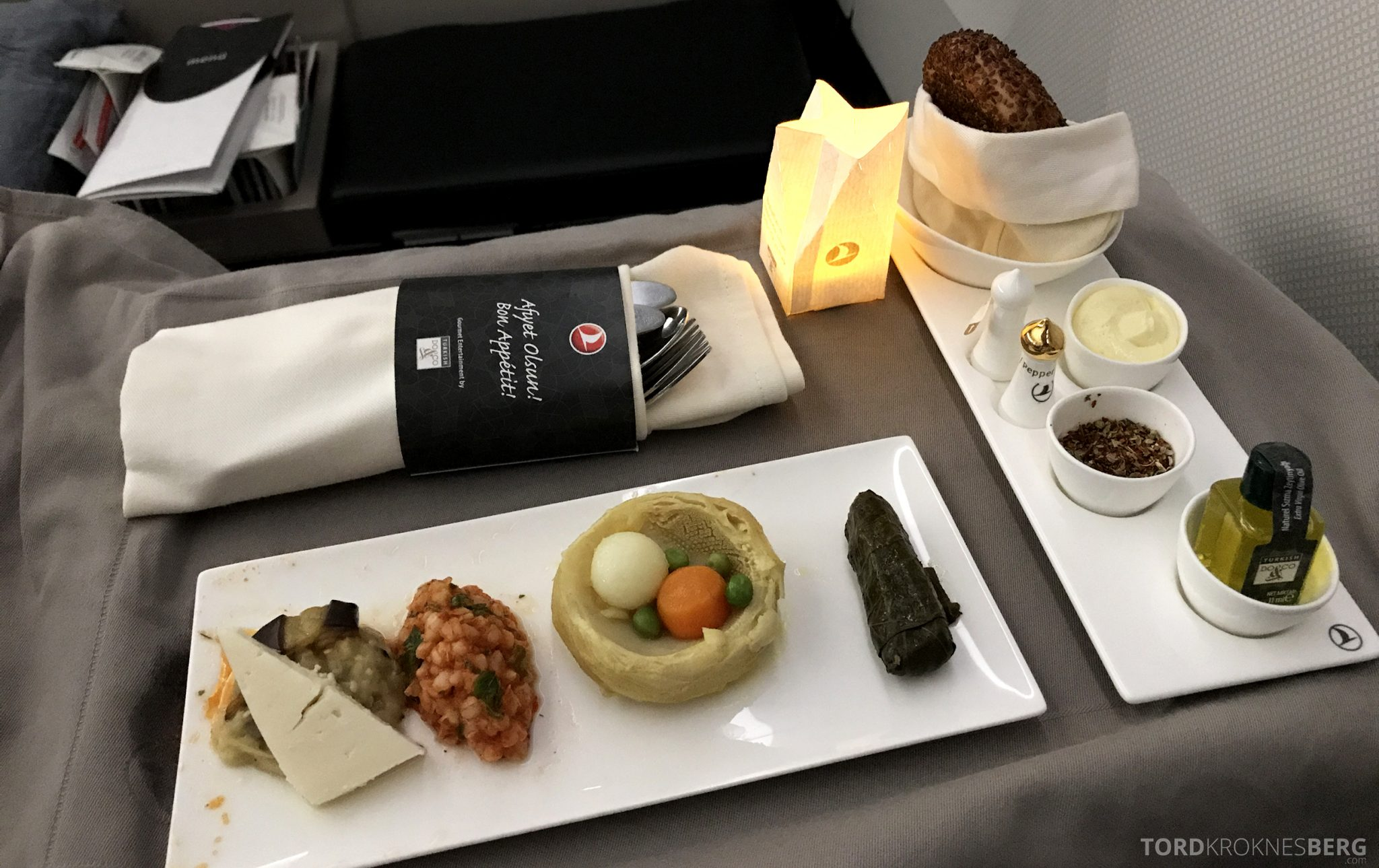 Turkish Airlines Business Class Istanbul Jakarta forrett