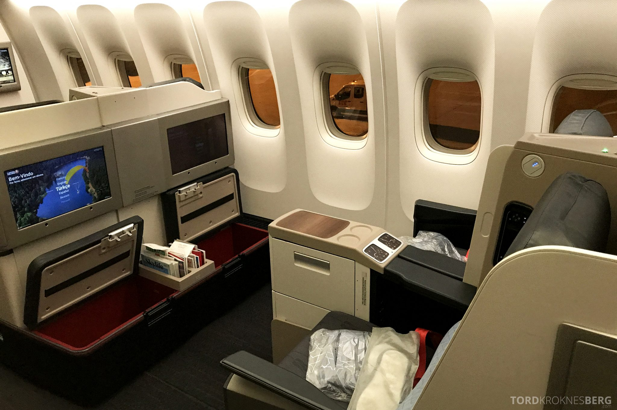Turkish Airlines Business Class Istanbul Jakarta benplass