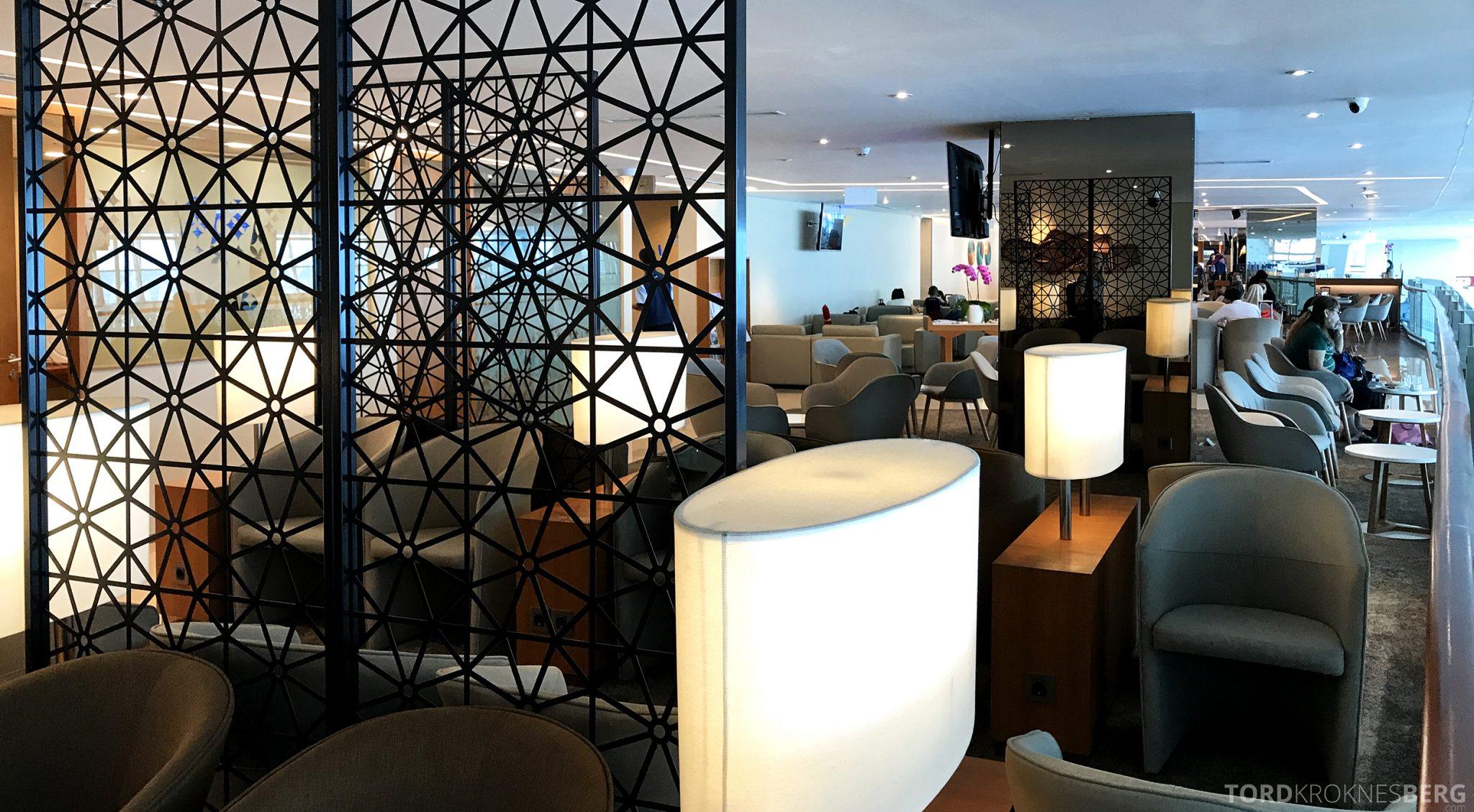 Garuda Indonesia Domestic Lounge Jakarta sitteplasser
