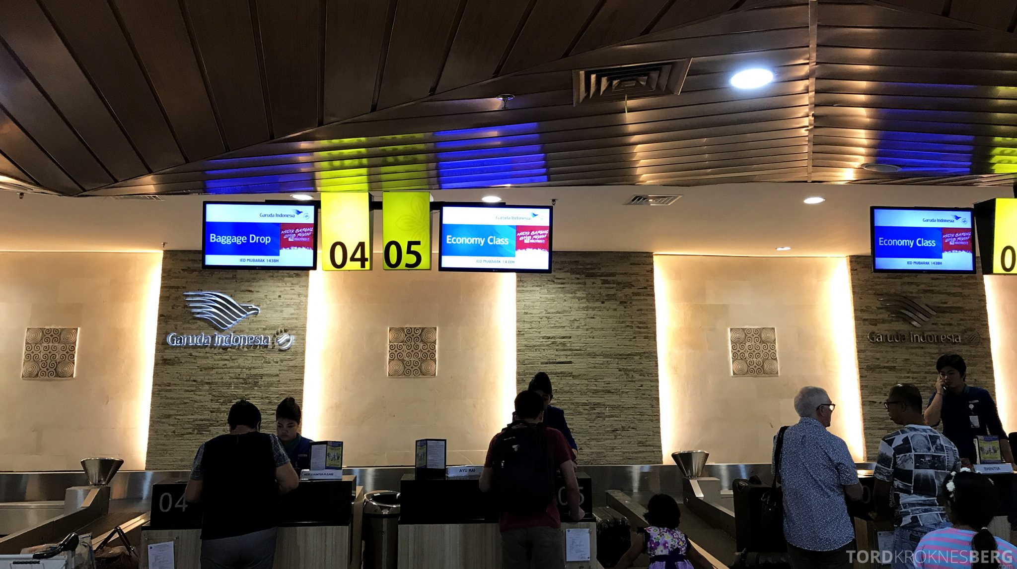 Garuda Indonesia Economy Bali Jakarta innsjekk