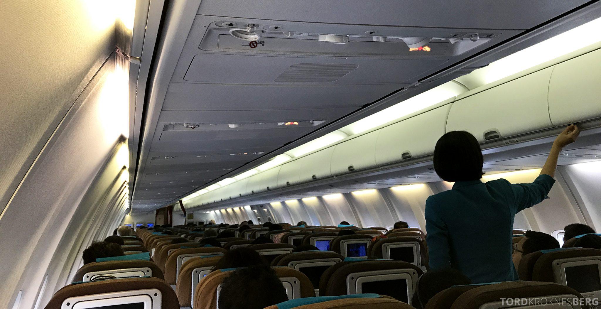 Garuda Indonesia Economy Bali Jakarta kabin