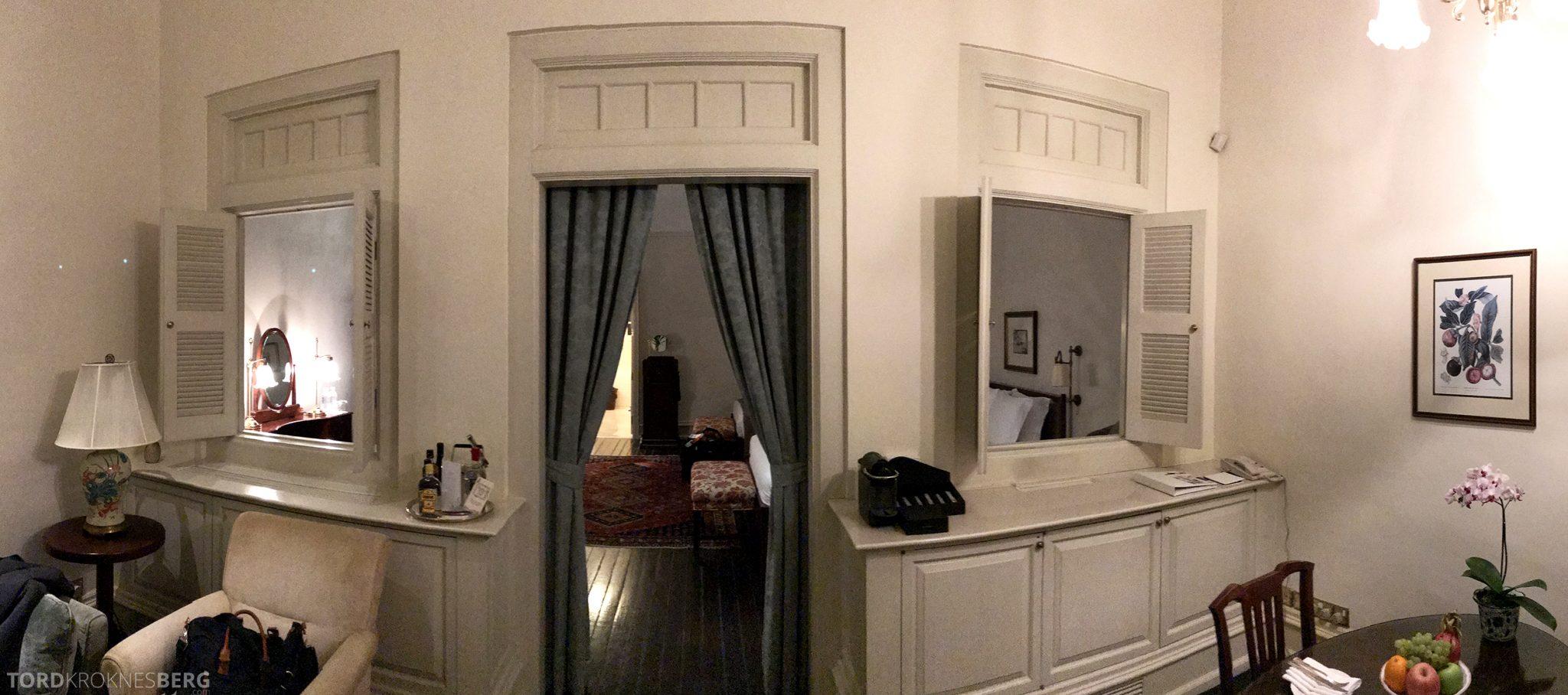 Raffles Hotel Singapore panorama rom