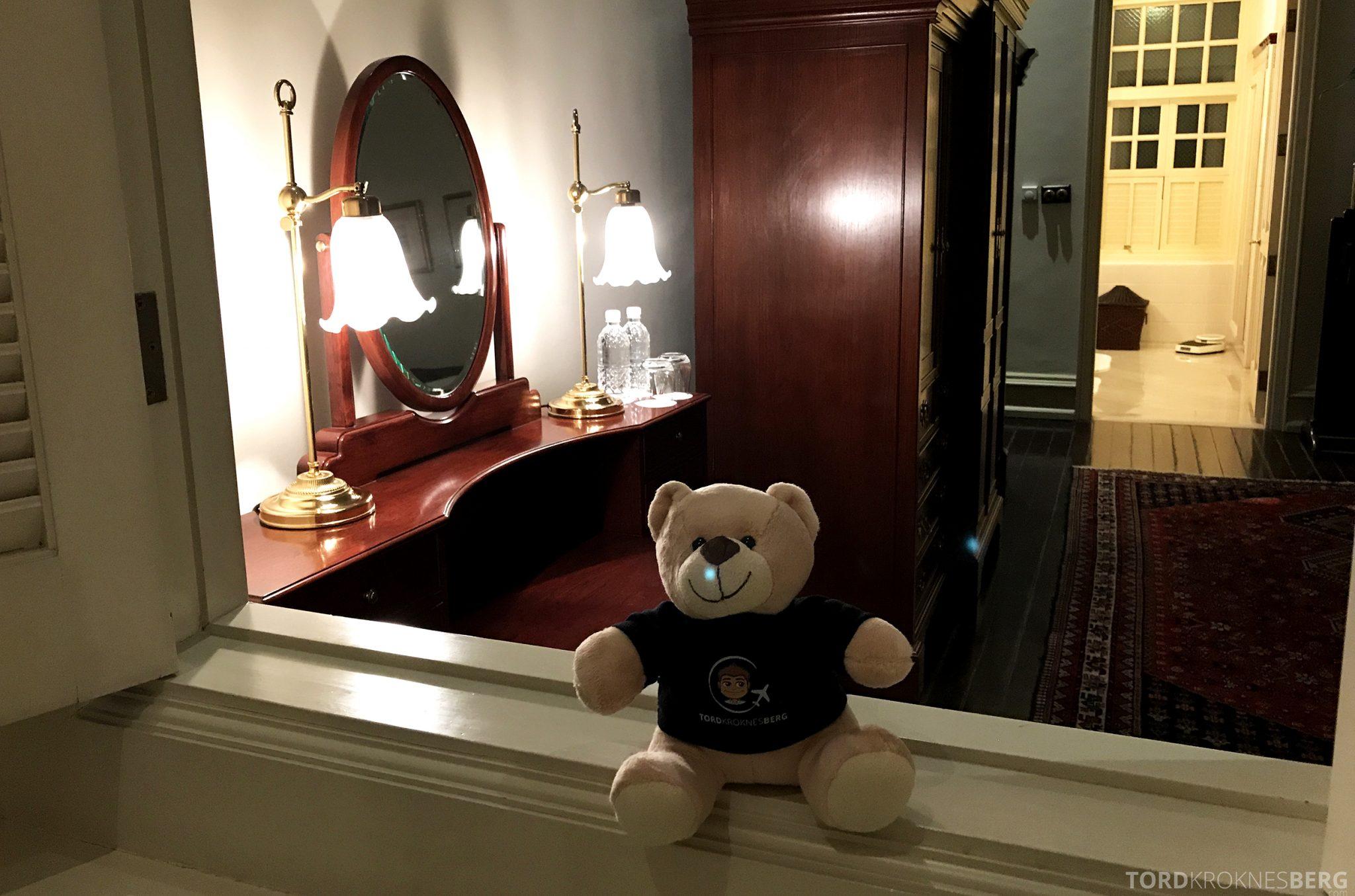 Raffles Hotel Singapore reisefølget i suitem