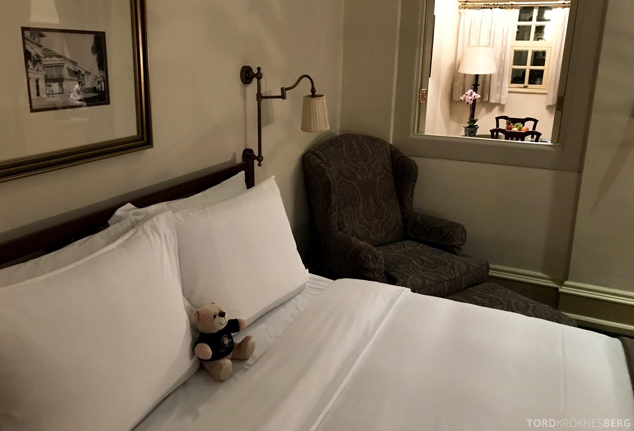 Raffles Hotel Singapore reisefølget seng
