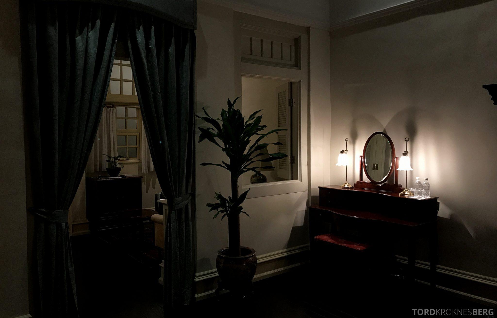 Raffles Hotel Singapore suite utsikt