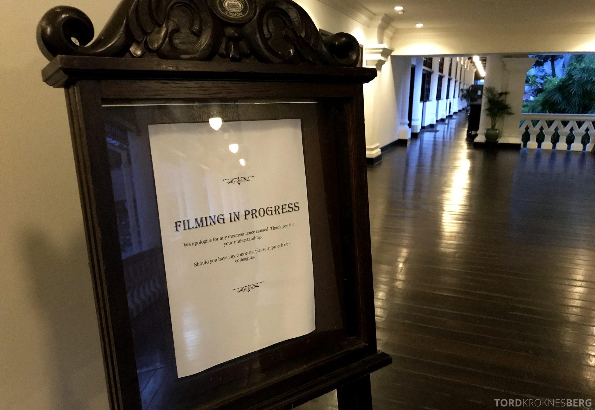 Raffles Hotel Singapore filminnspilling