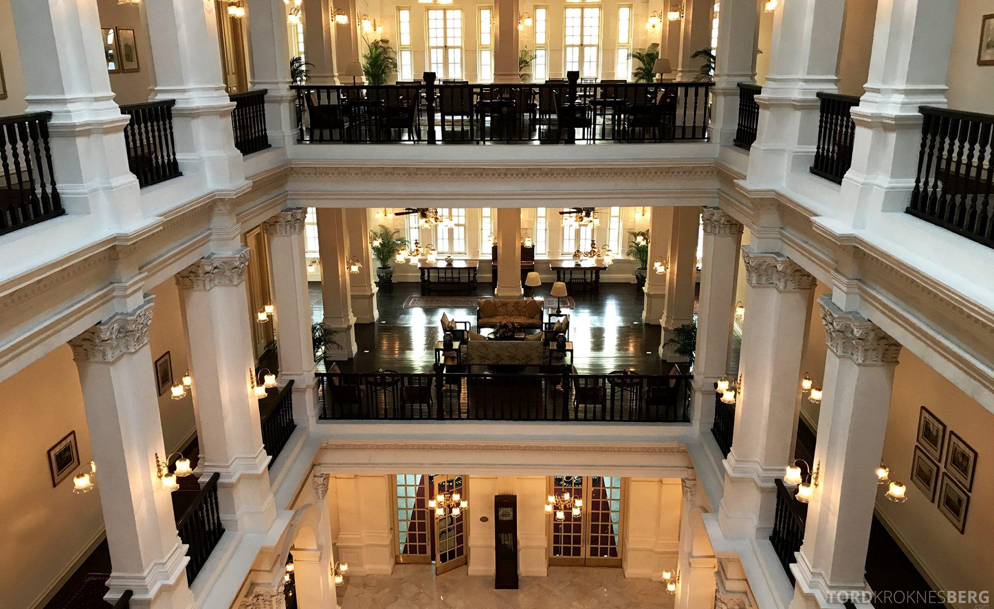 Raffles Hotel Singapore kolonistil