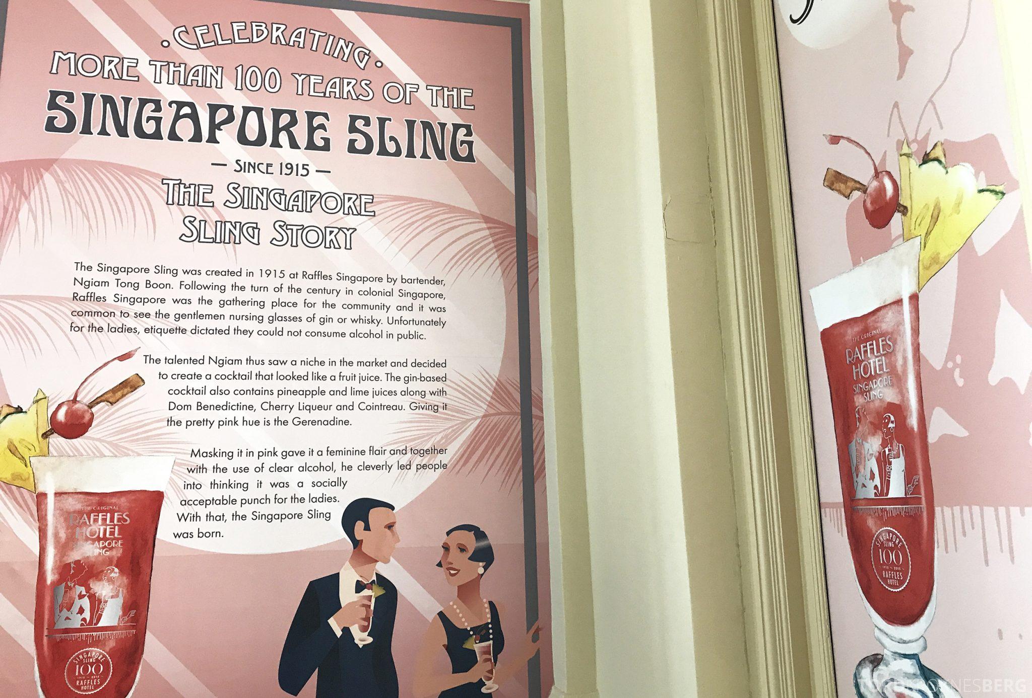 Raffles Hotel Singapore Sling