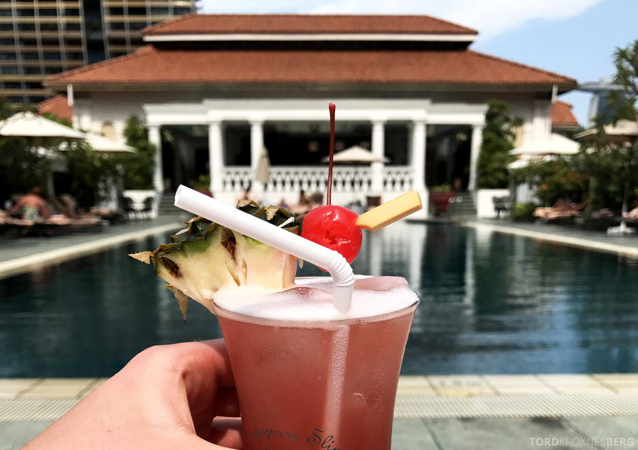 Raffles Hotel Singapore Sling drink