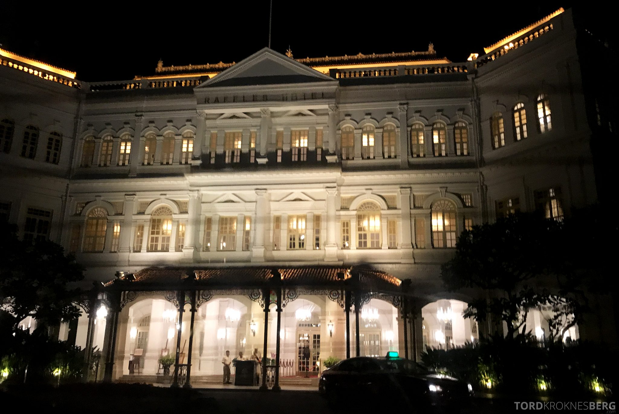 Raffles Hotel Singapore fasade