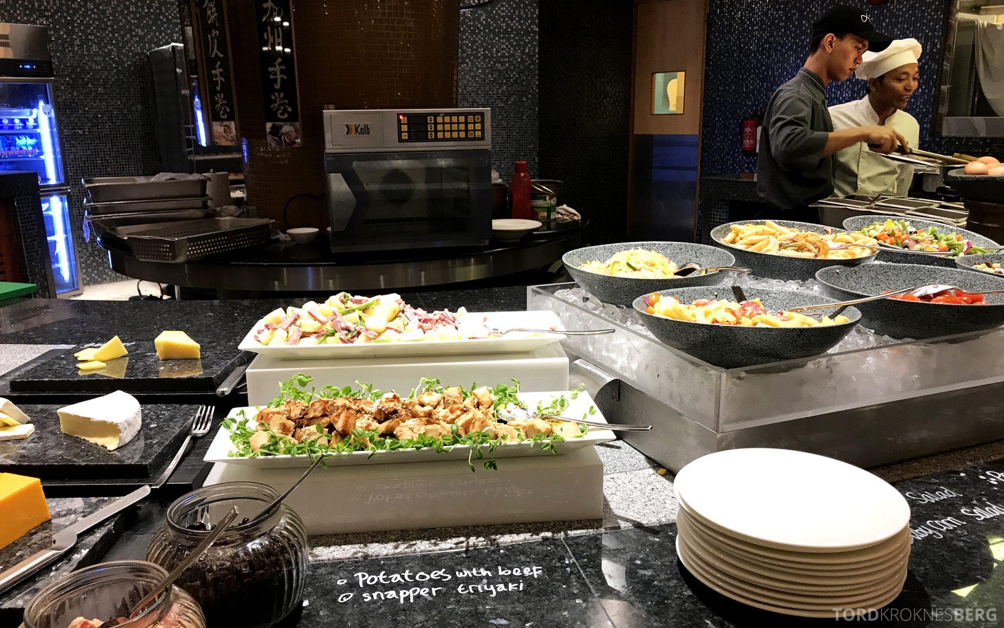 Restaurant Asia Ritz-Carlton Jakarta variert mat