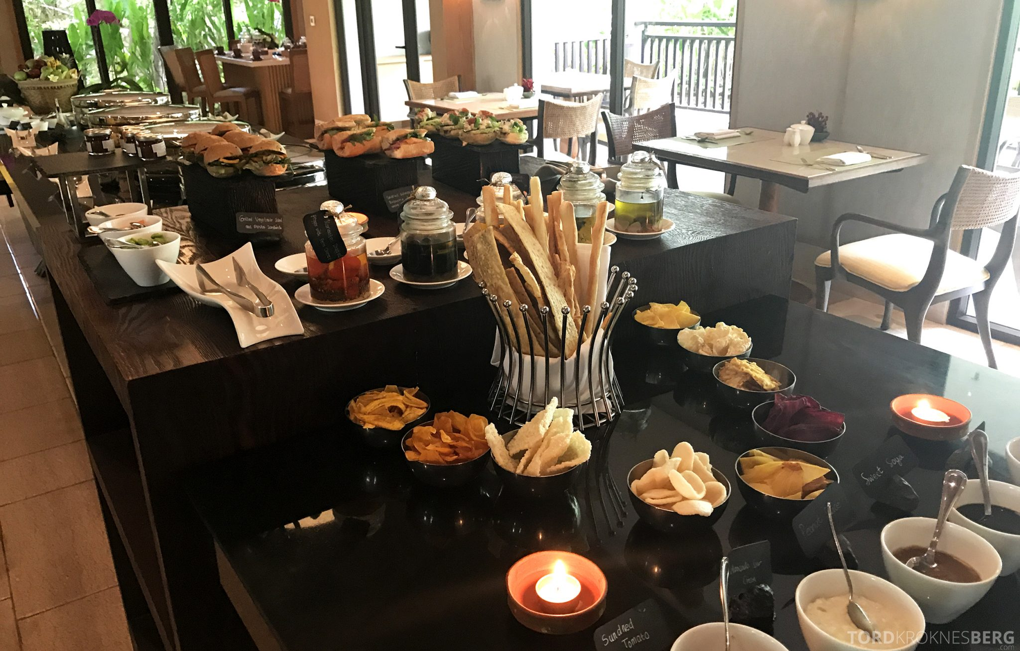 Ritz-Carlton Bali Club Lounge lunchbuffet