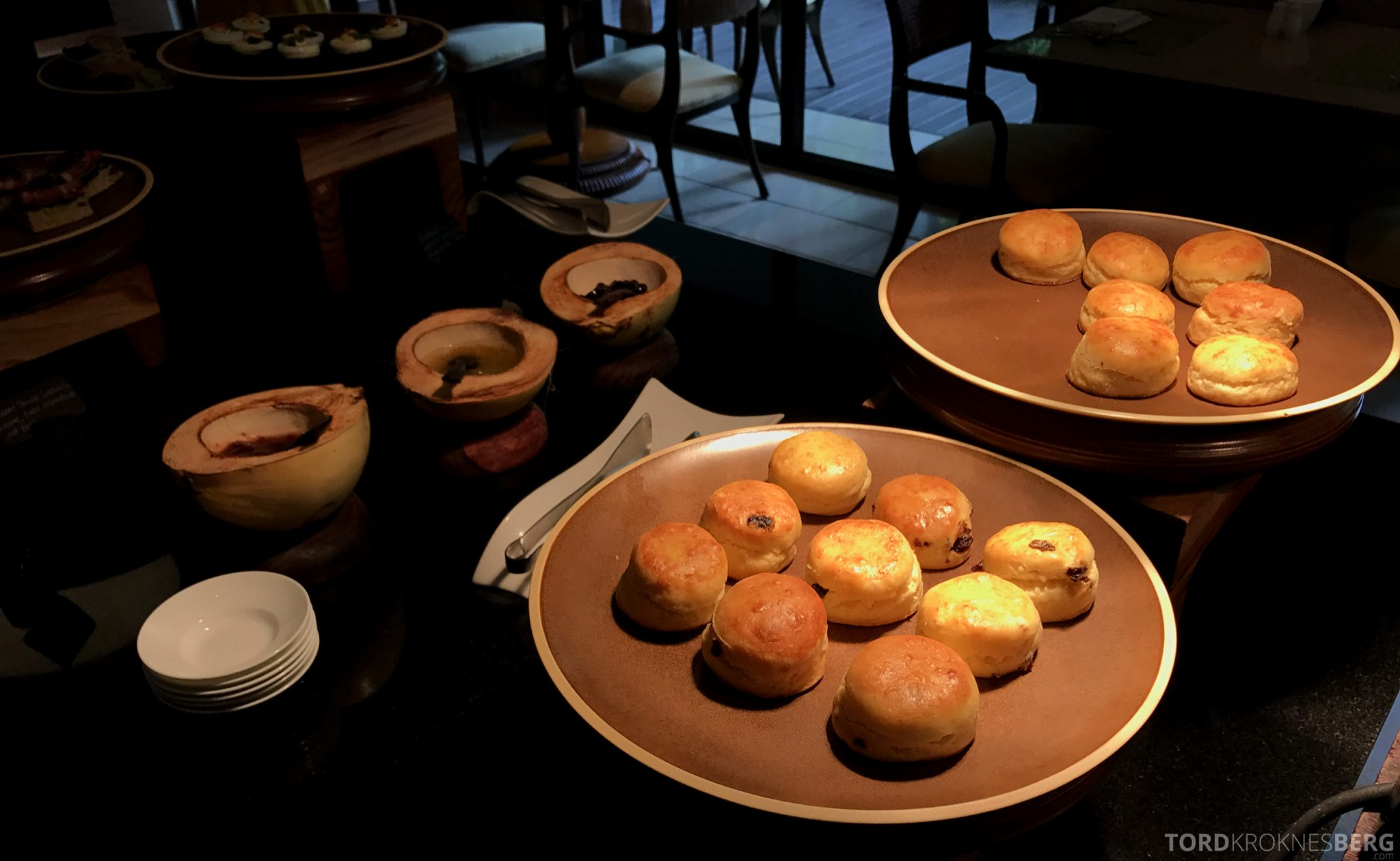 Ritz-Carlton Bali Club Lounge afternoon tea