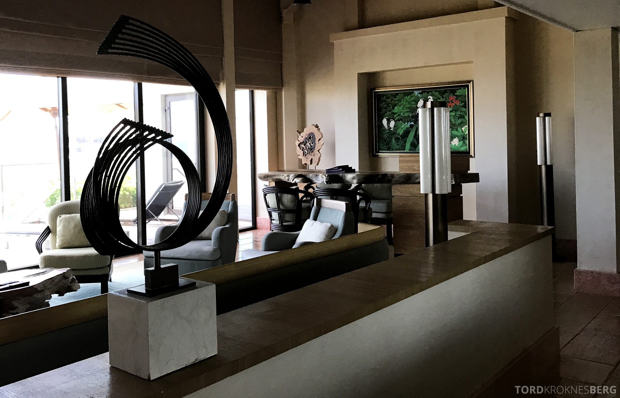 Ritz-Carlton Bali Suites sky villa stue