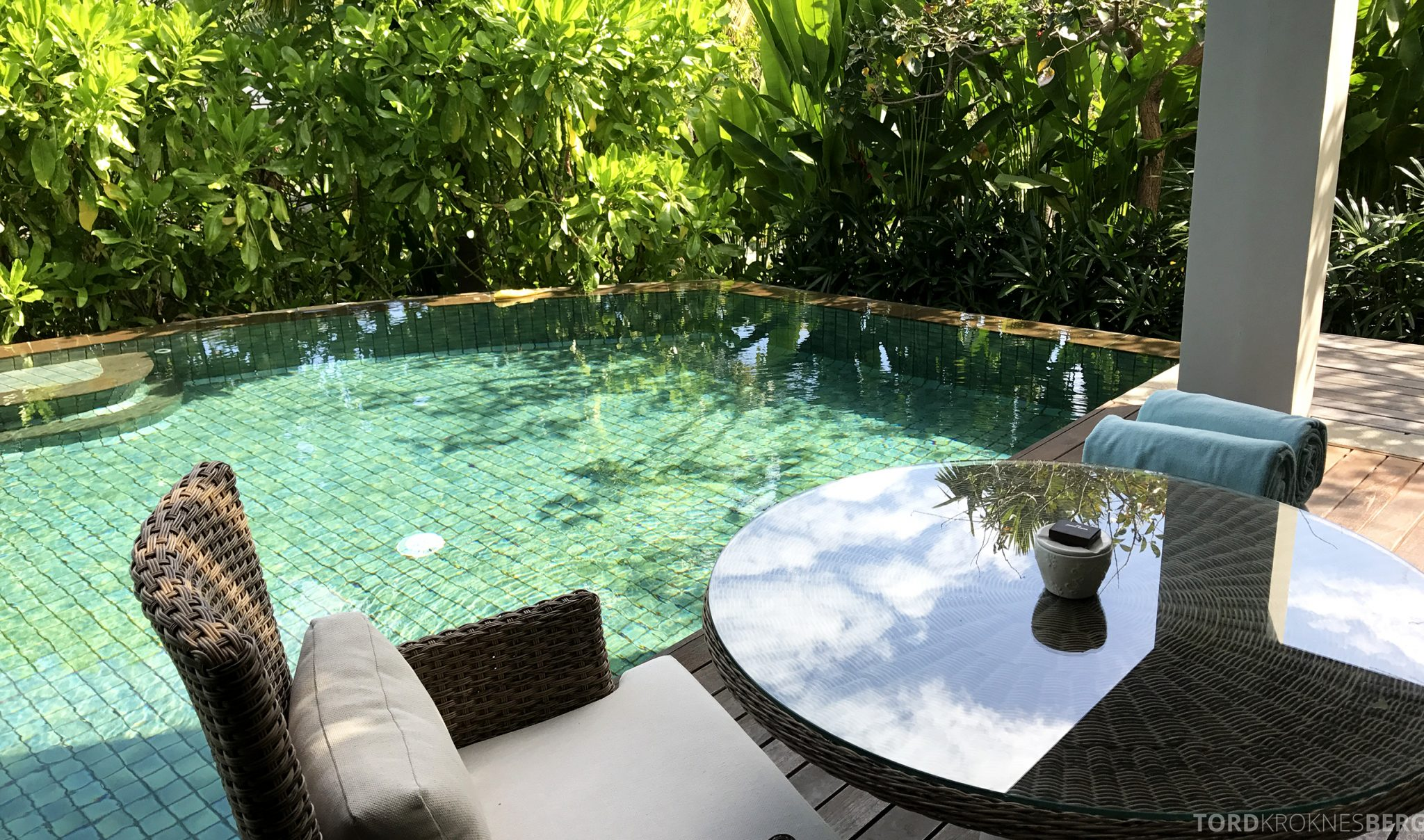 Ritz-Carlton Bali pavilion suite tropisk