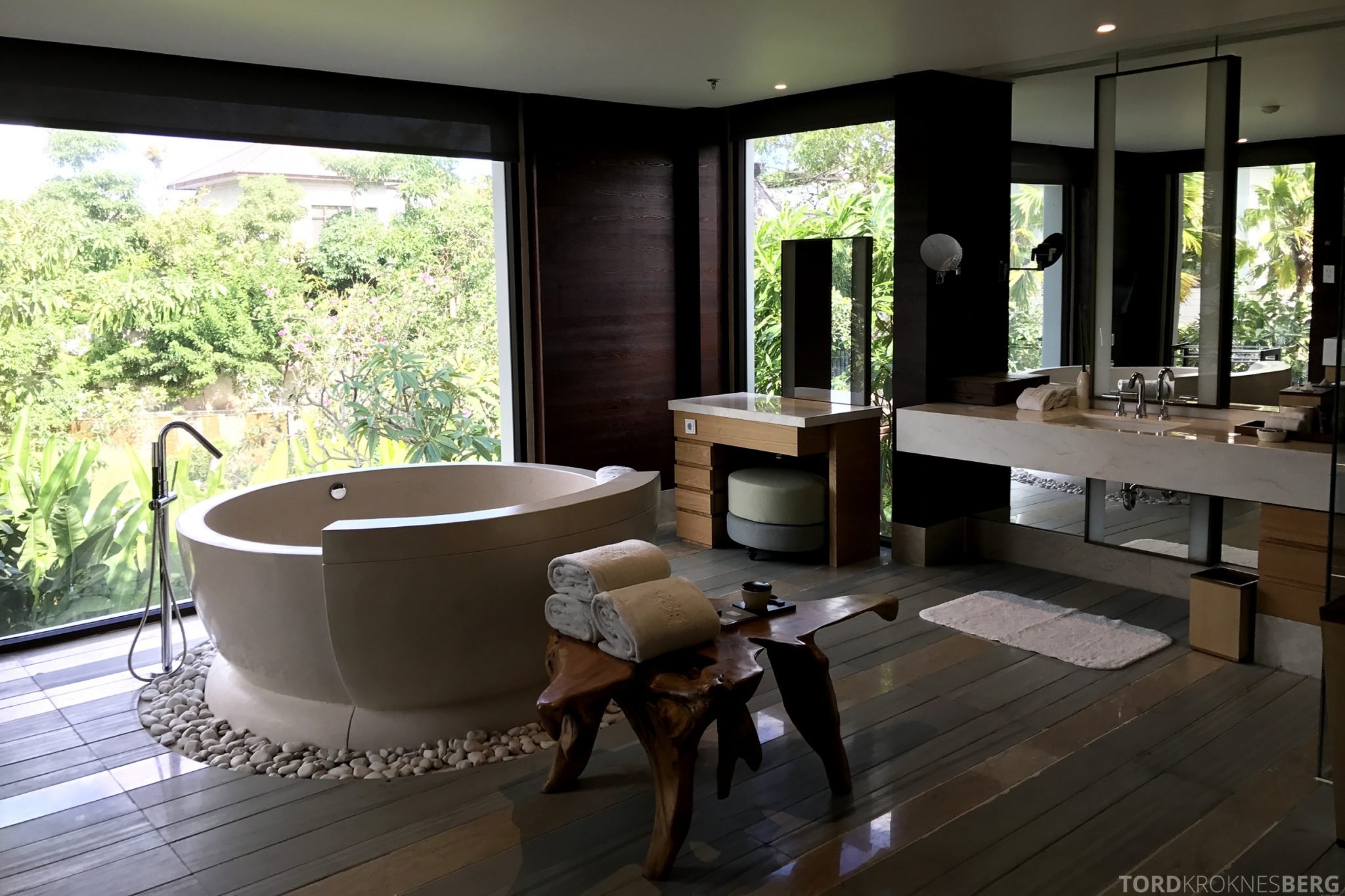 Ritz-Carlton Bali Cliff Villa bad