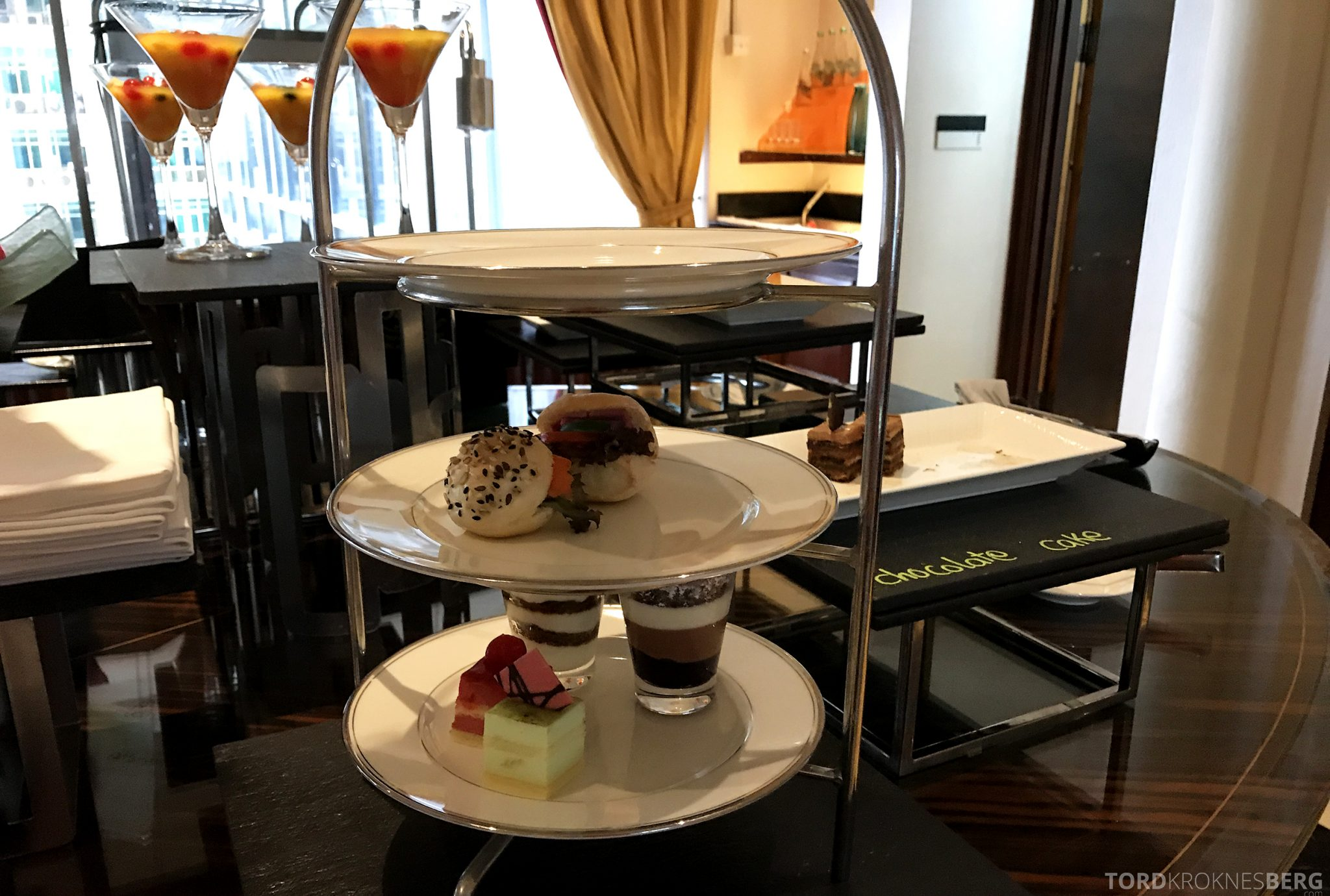 Ritz-Carlton Jakarta Club Lounge afternoon tea