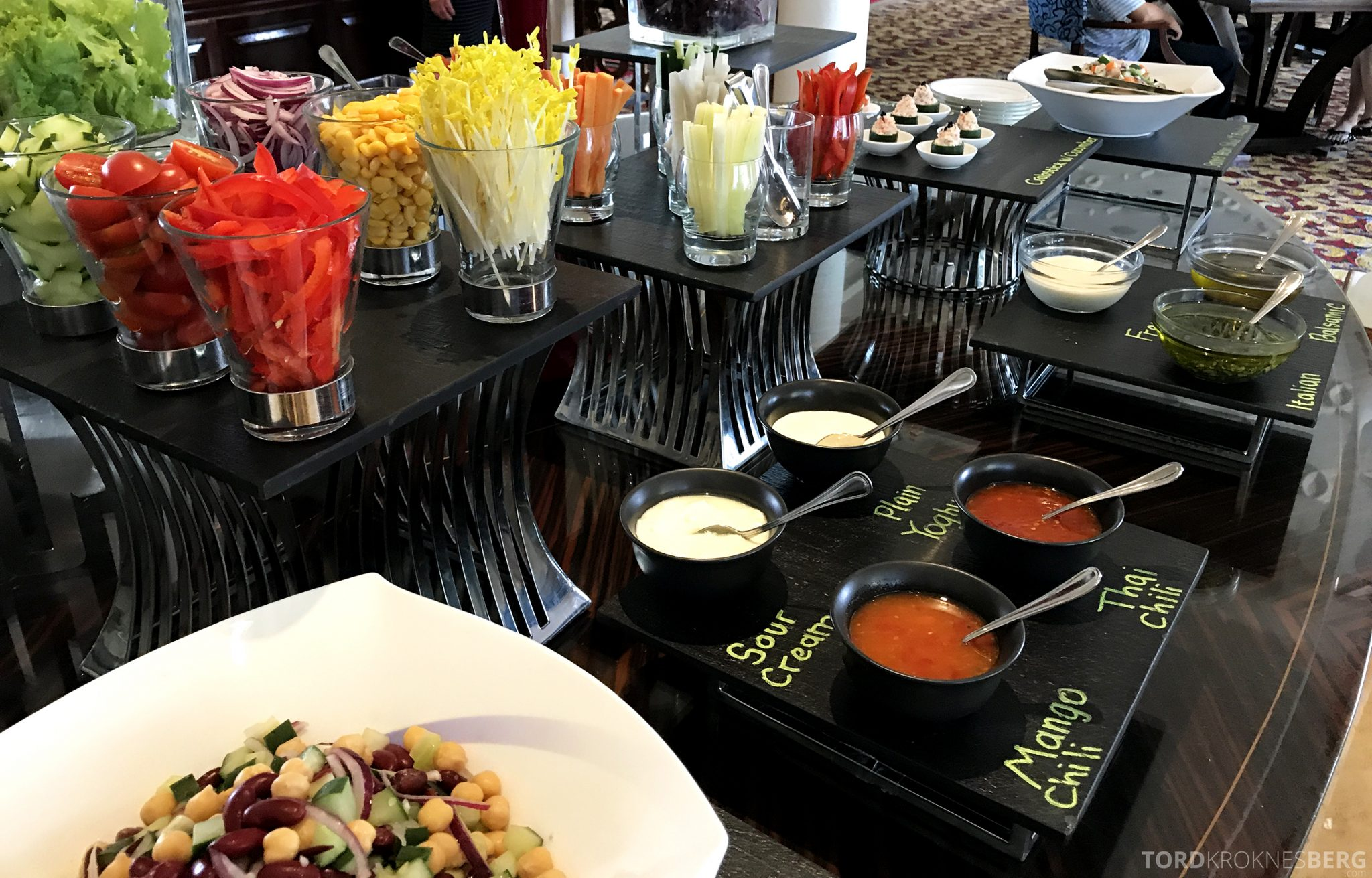 Ritz-Carlton Jakarta Club Lounge lunch