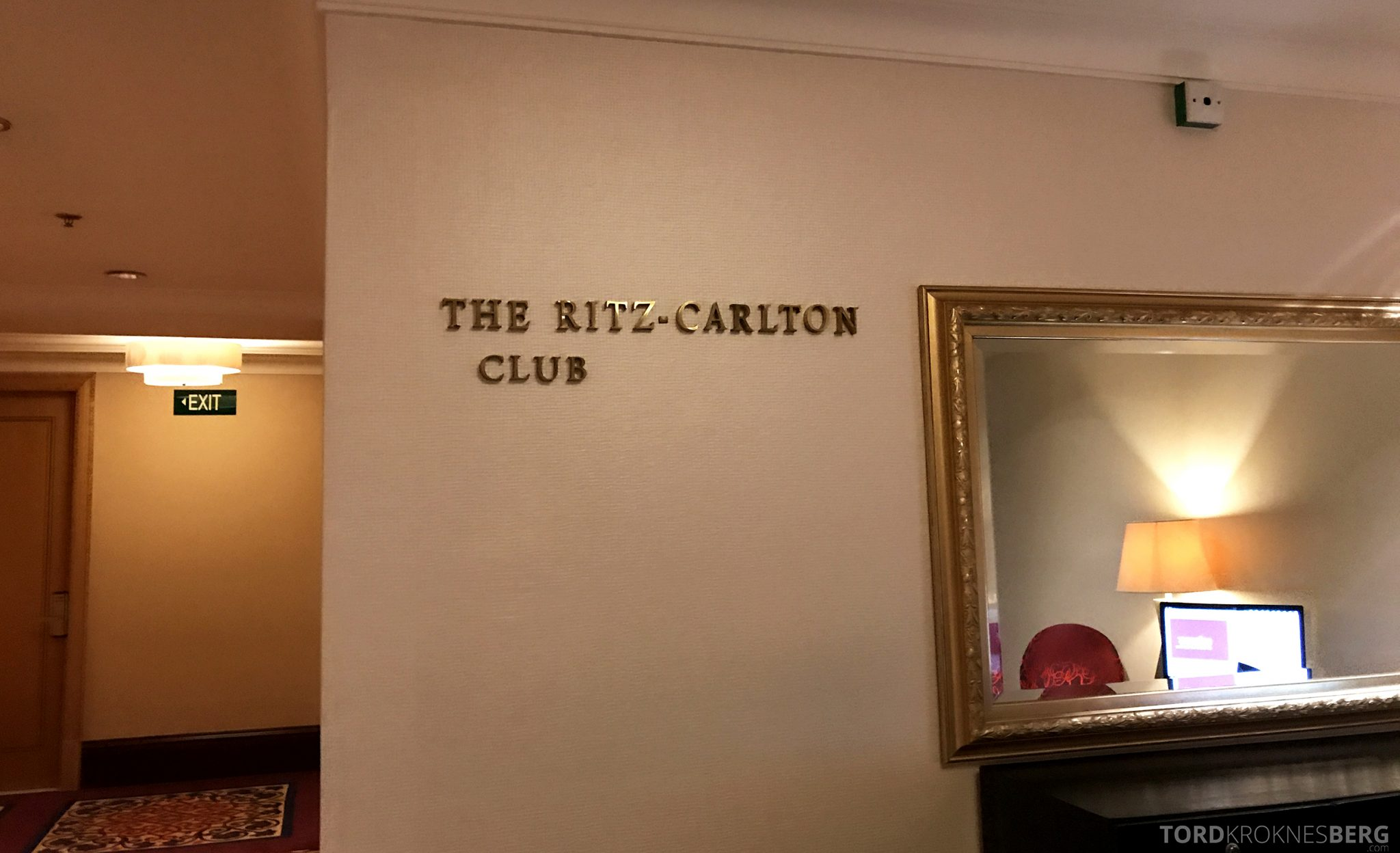 Ritz-Carlton Jakarta Club Lounge kronjuvel