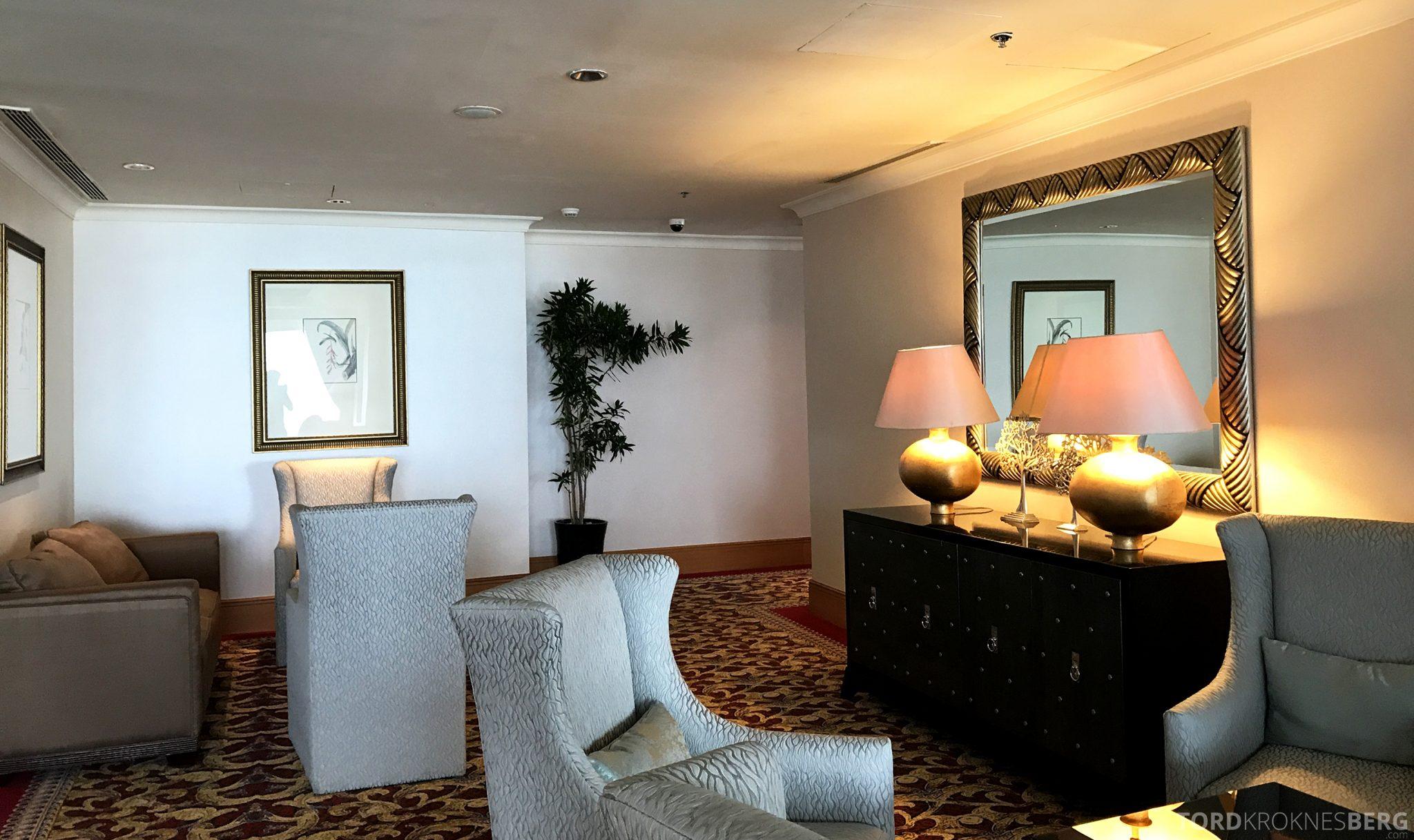 Ritz-Carlton Jakarta Club Lounge omgivelser