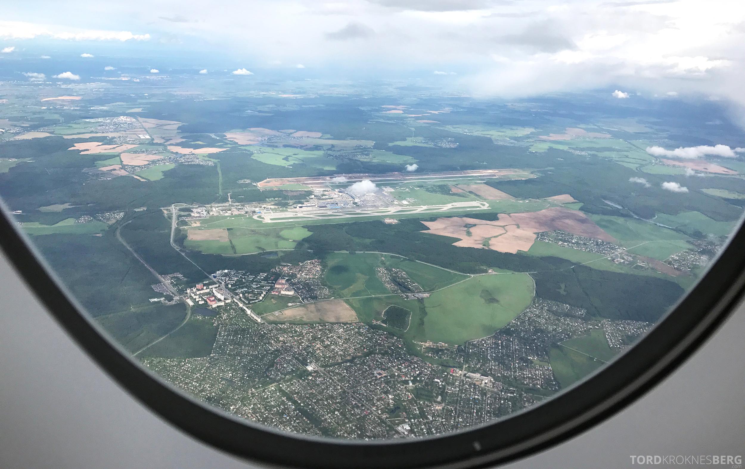 Singapore Airlines Business Class Moskva Singapore adjø