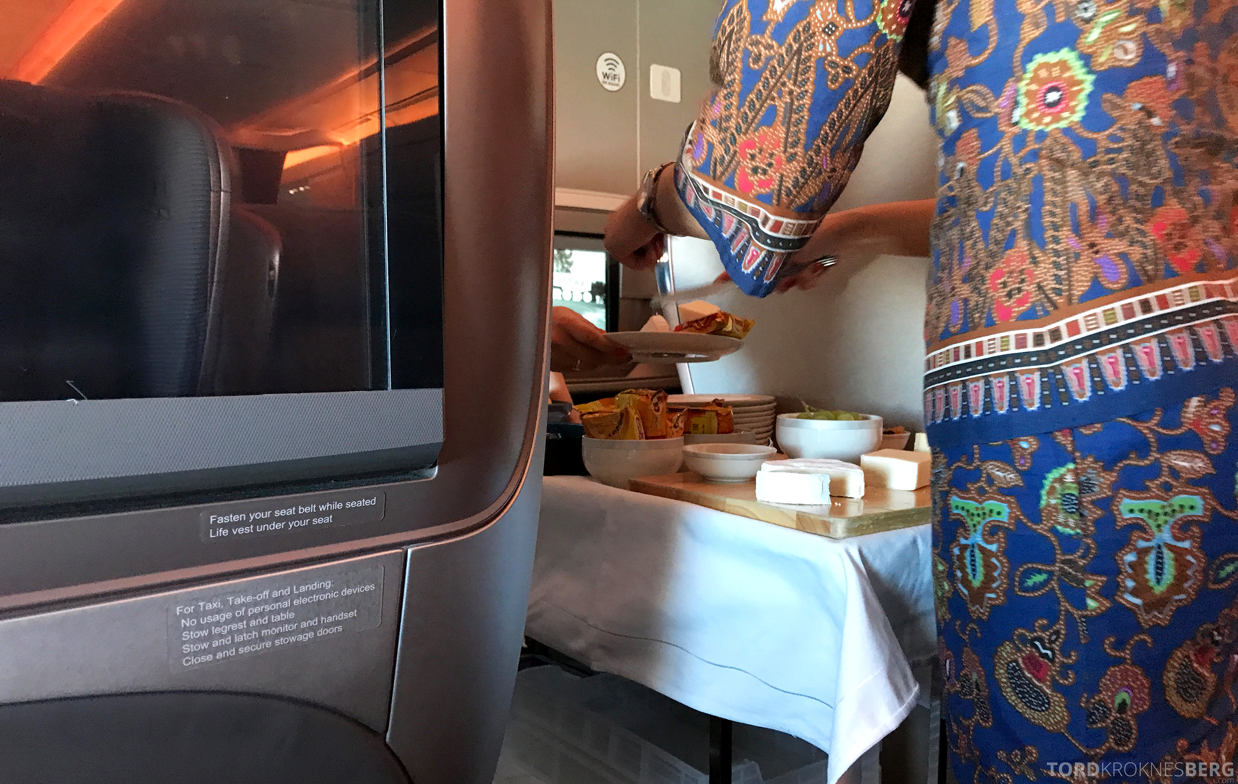 Singapore Airlines Business Class Moskva Singapore ost