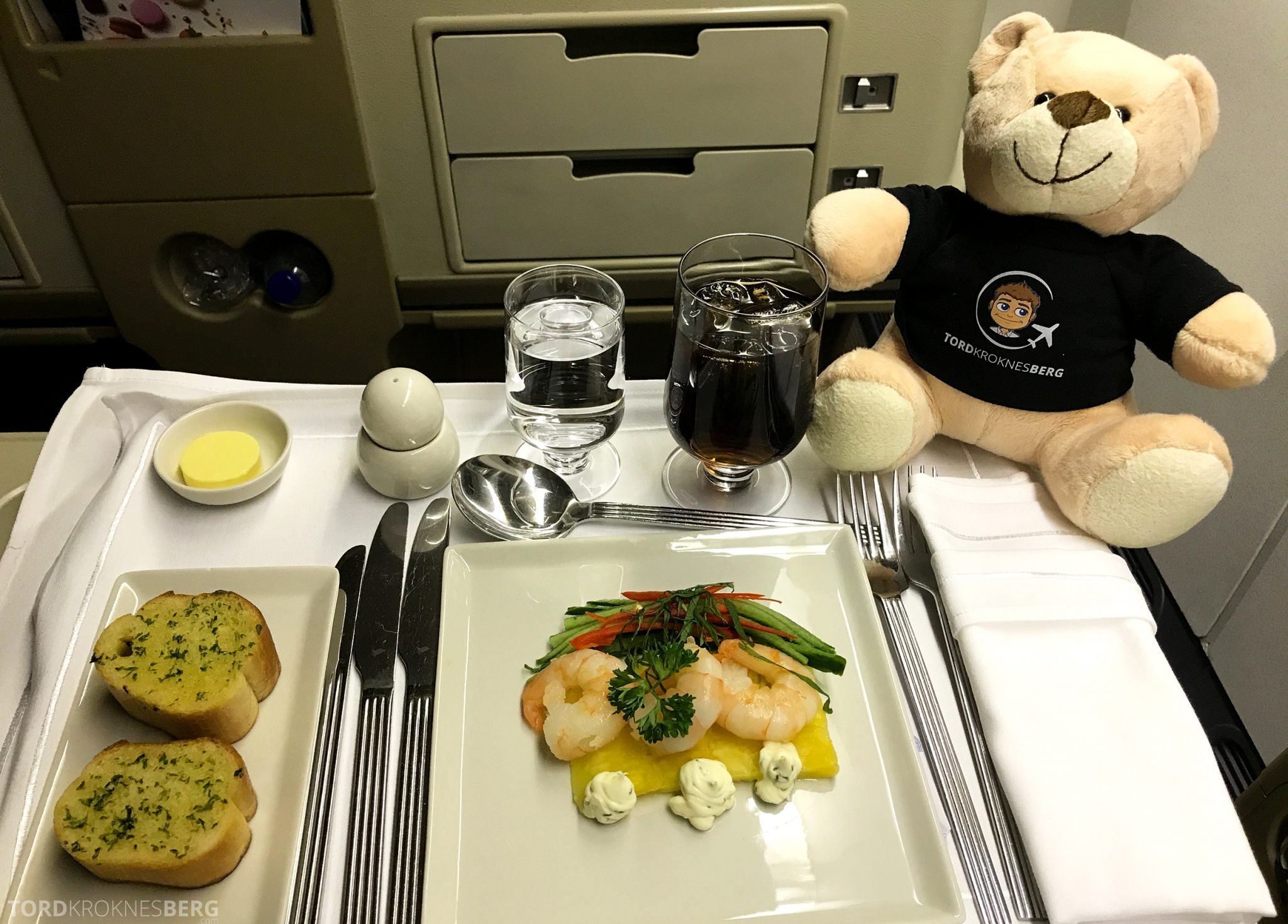 Singapore Airlines Business Class Wellington Canberra Changi reisefølget