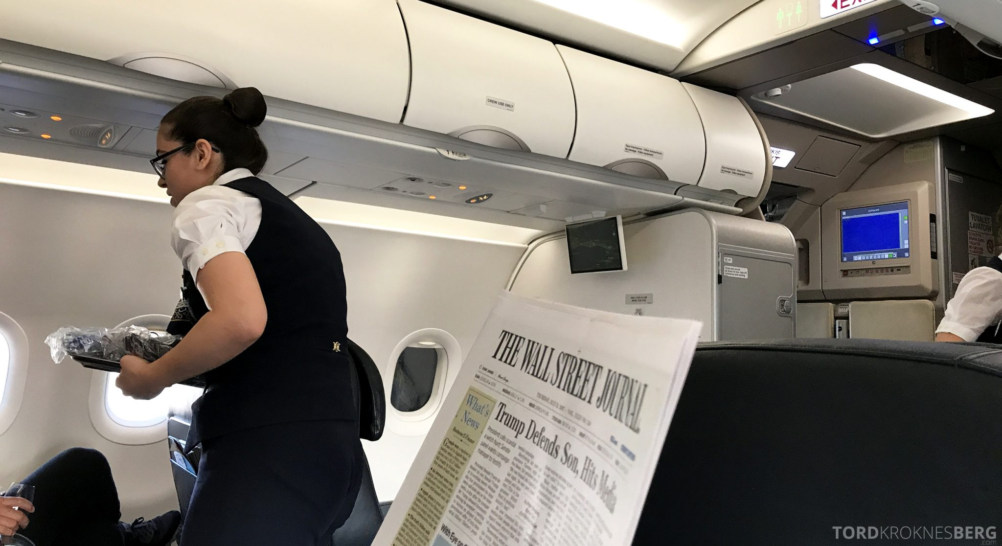 Turkish Airlines Business Class Istanbul Oslo avis
