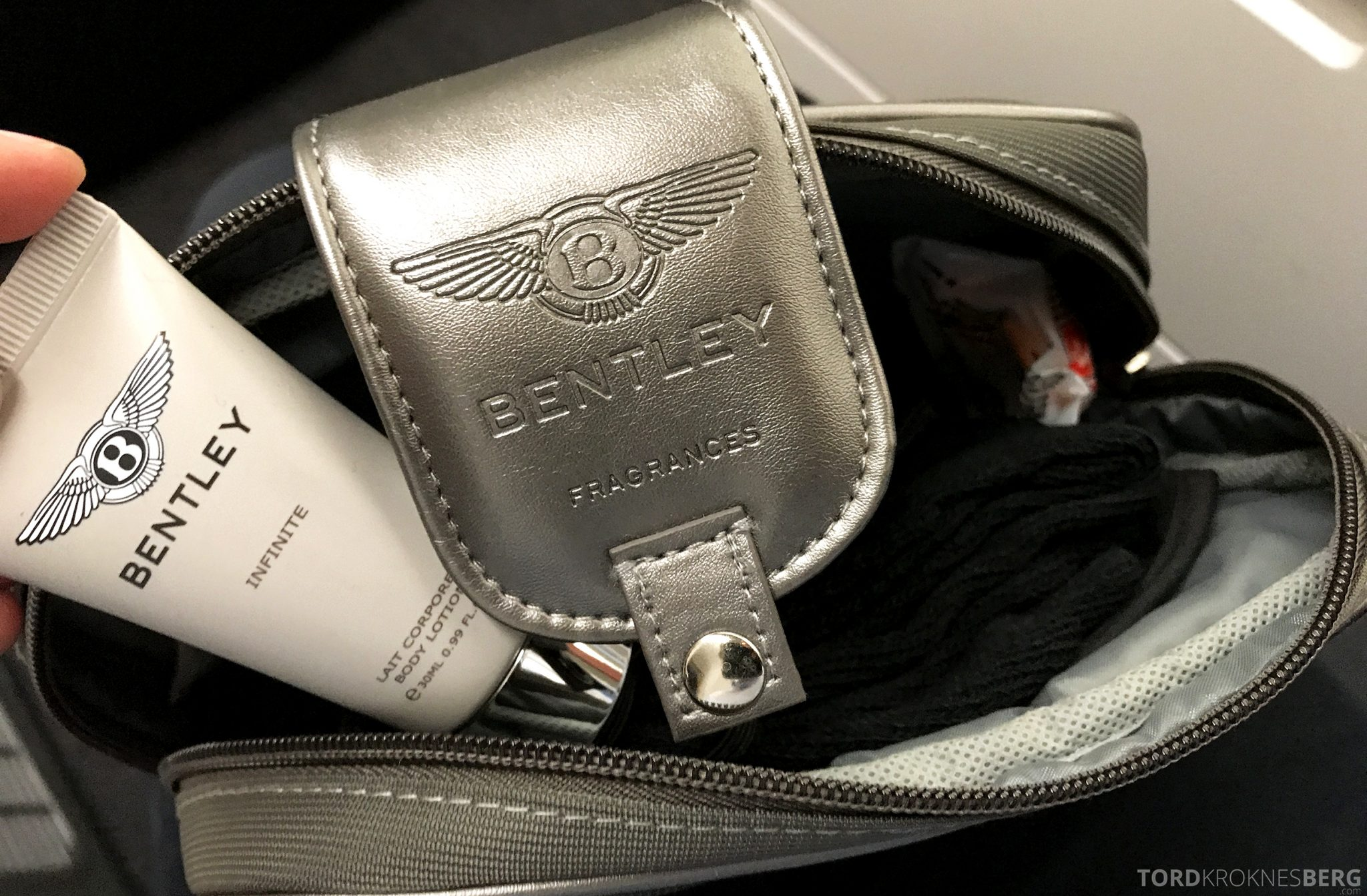 Turkish Airlines Business Class Jakarta Istanbul amenity kit
