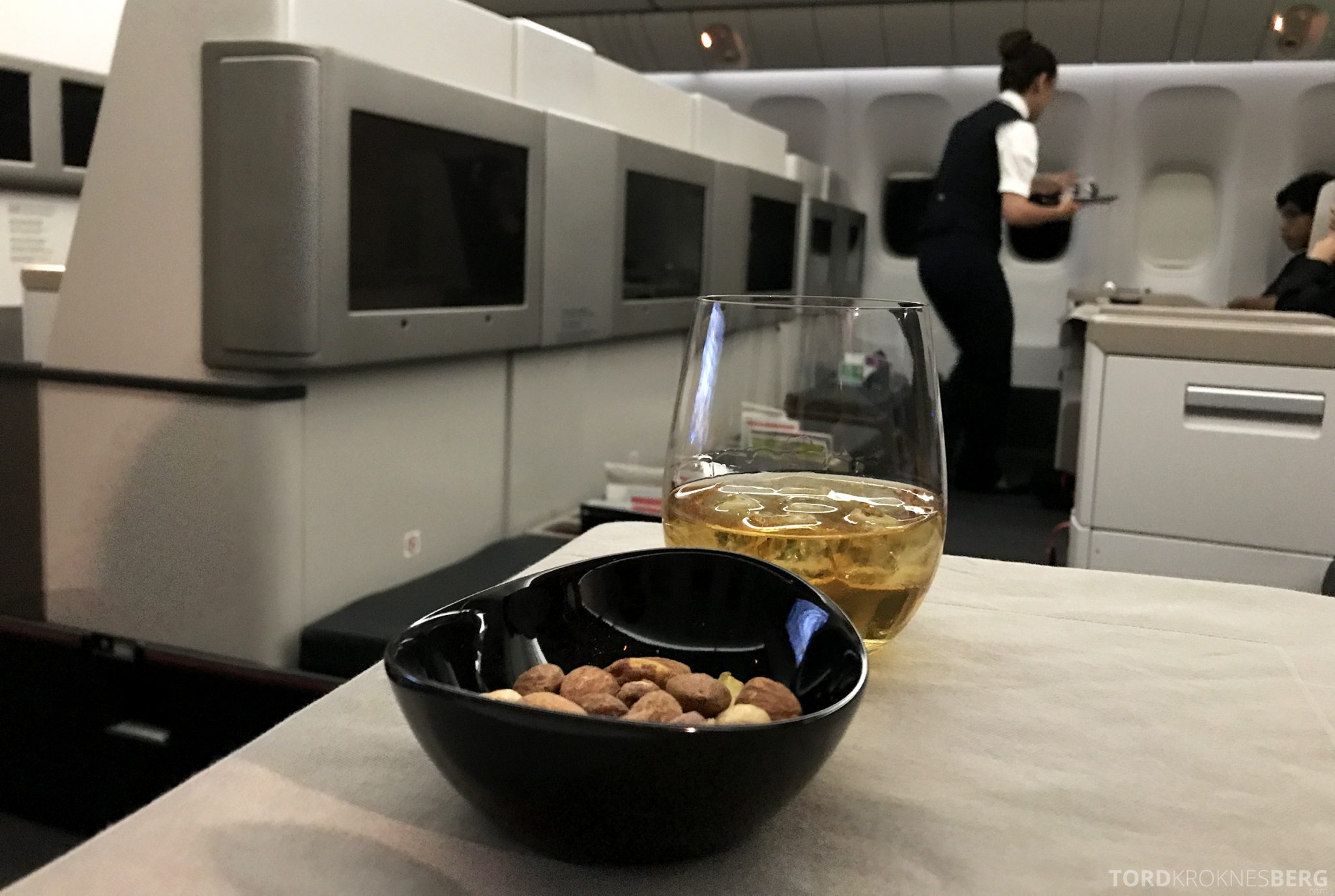 Turkish Airlines Business Class Jakarta Istanbul appetittvekker