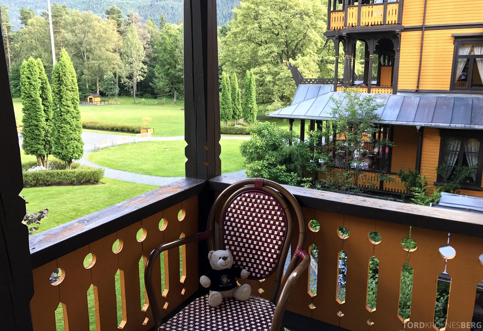 Dalen Hotel Telemark reisefølget balkong