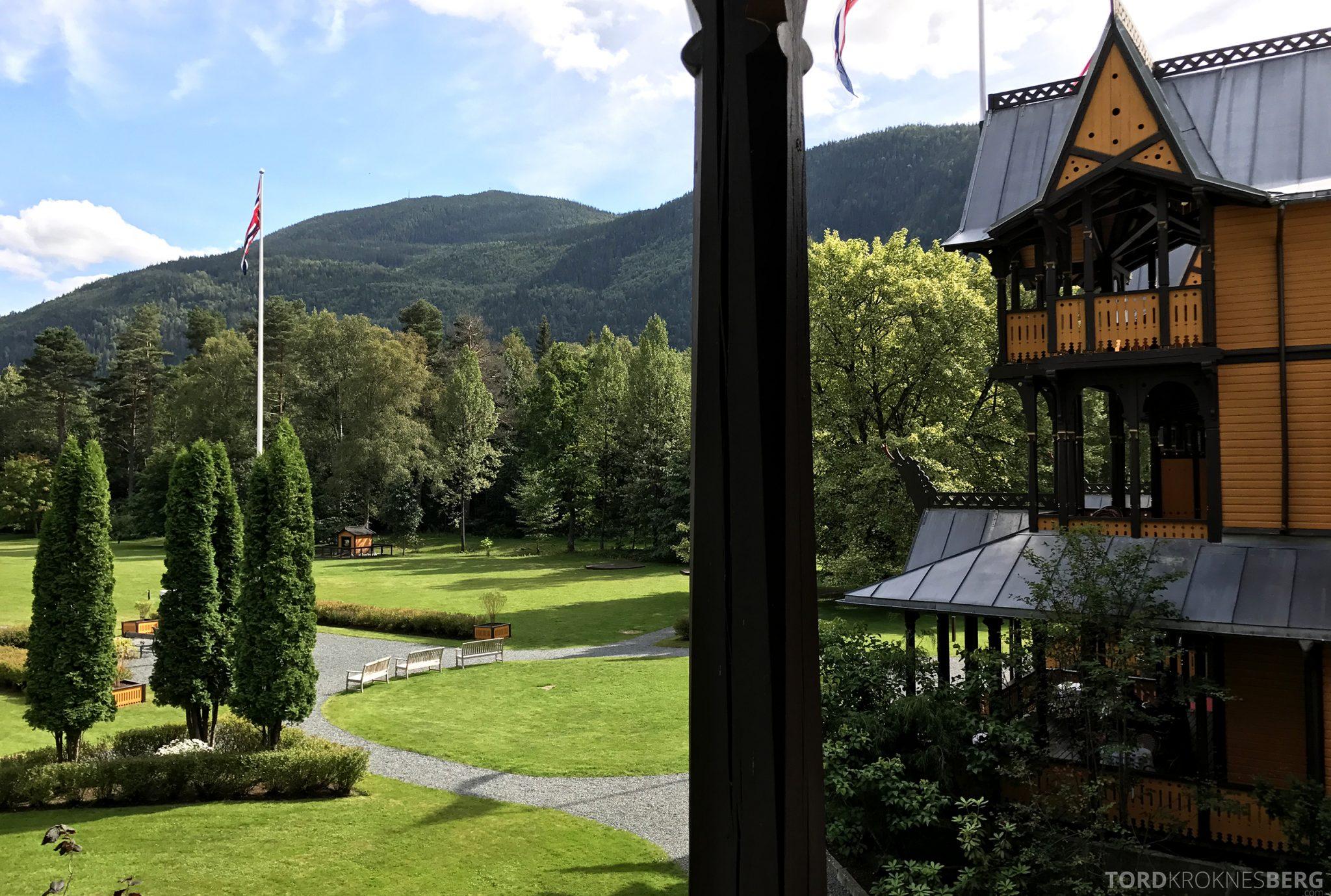 Dalen Hotel Telemark utsikt rom