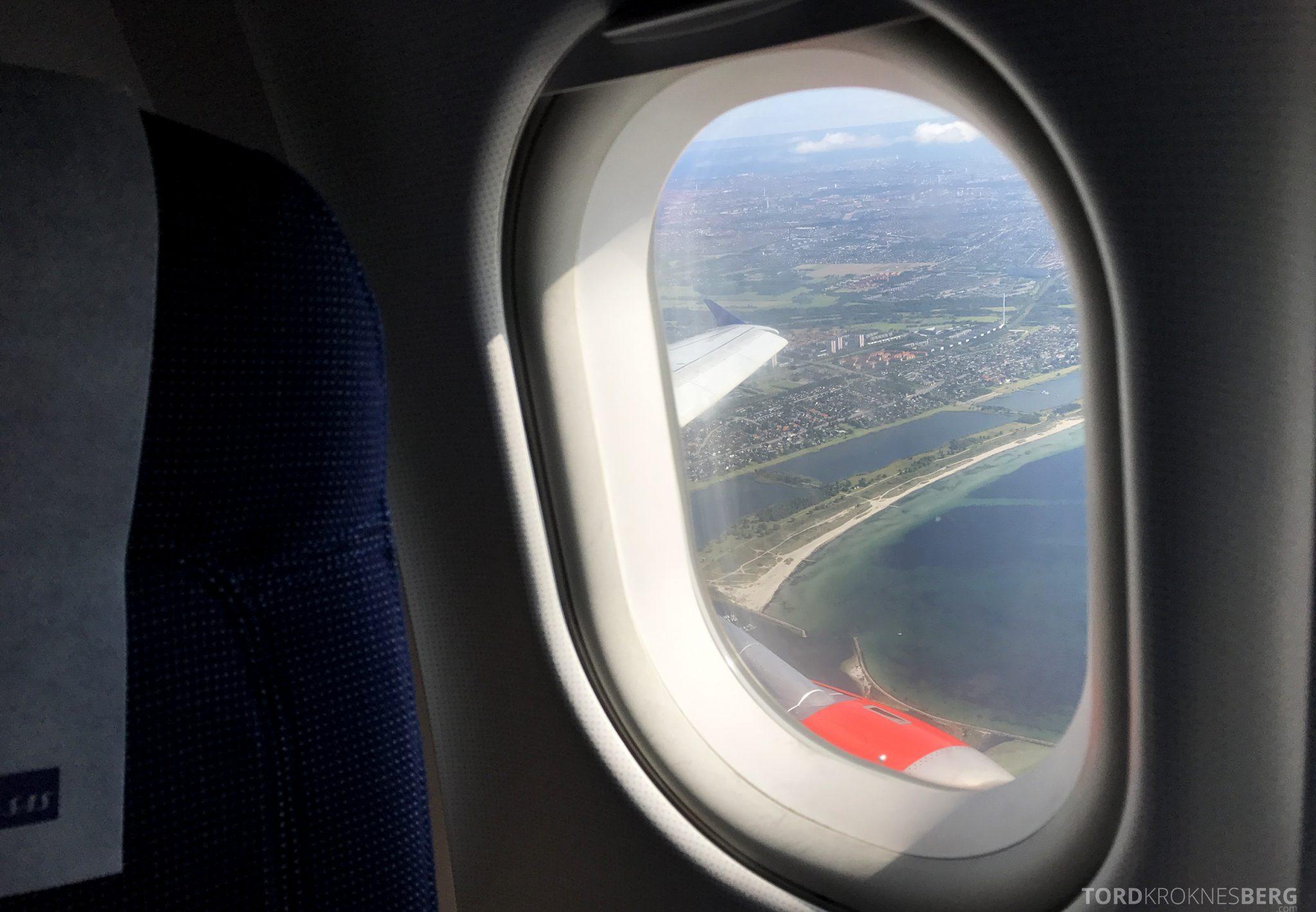 SAS Plus Oslo San Francisco København landing