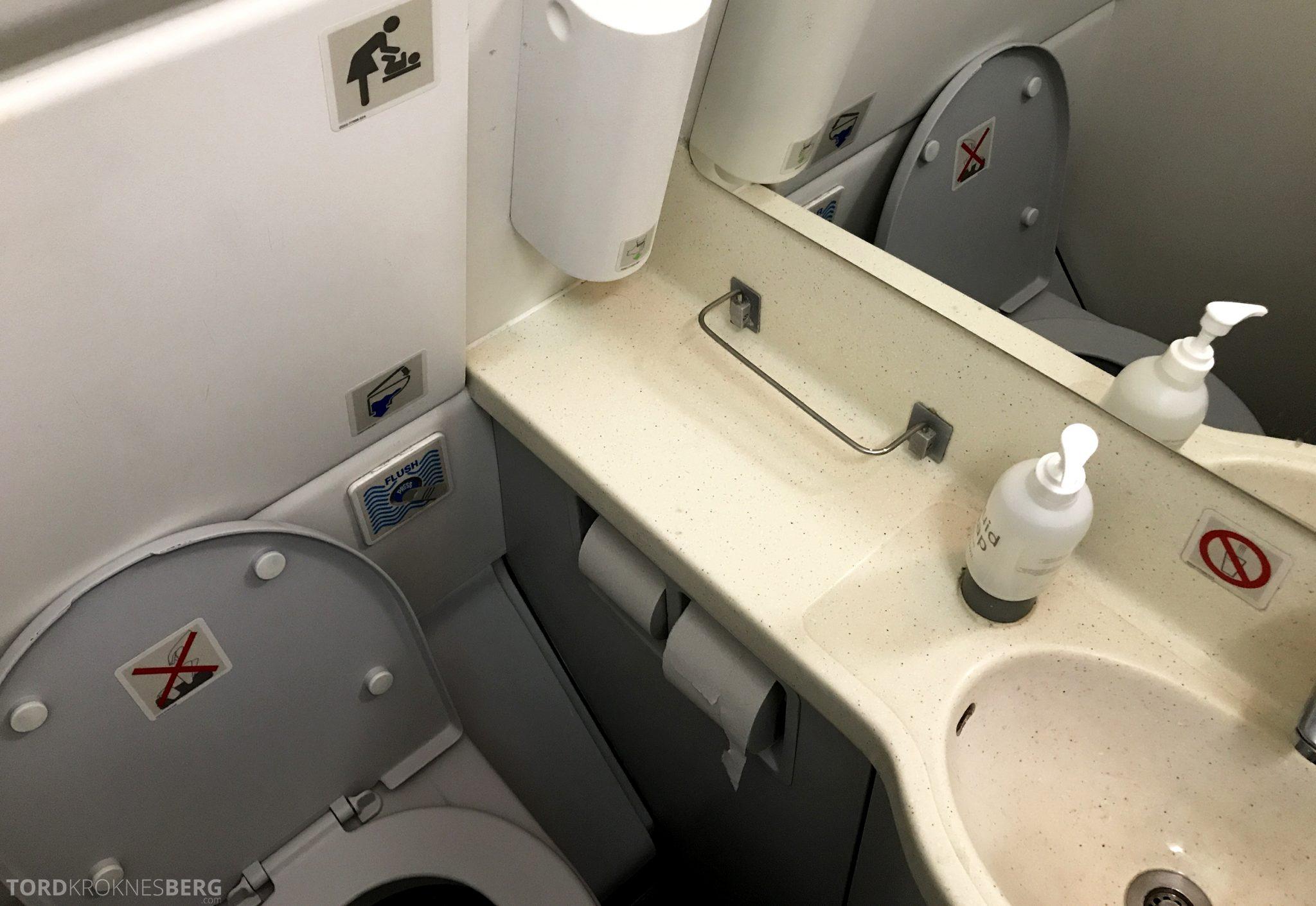SAS Plus Oslo San Francisco toalett