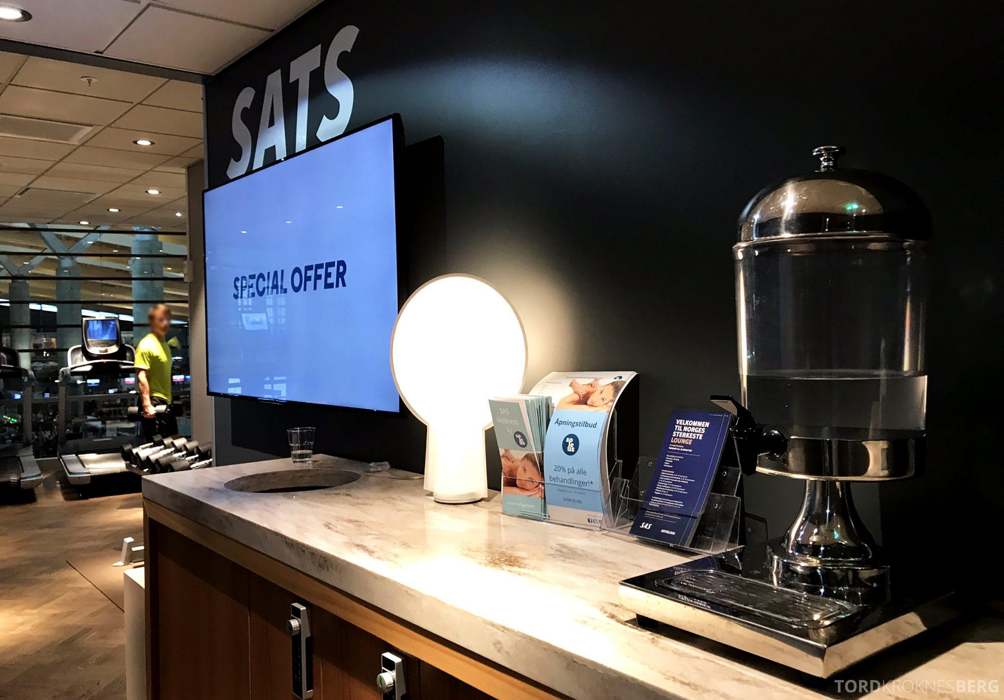 SAS Lounge Oslo Innland treningssenter